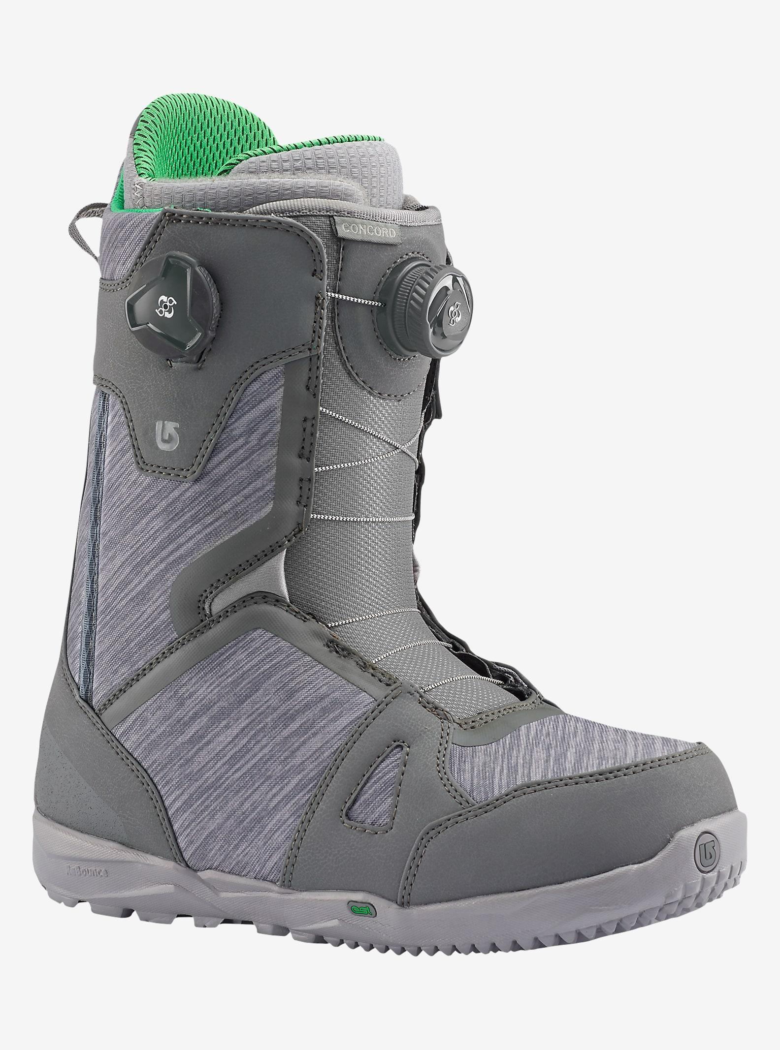 Burton Concord Boa® Snowboard Boot shown in Gray / Green