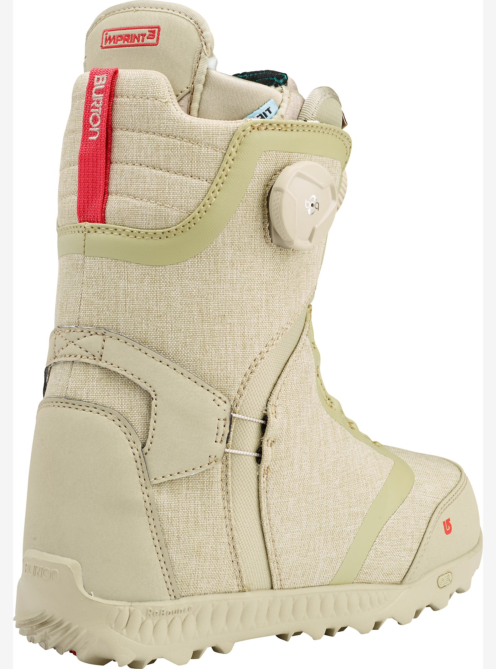 Burton Felix Boa® Snowboard Boot shown in Desert Rose