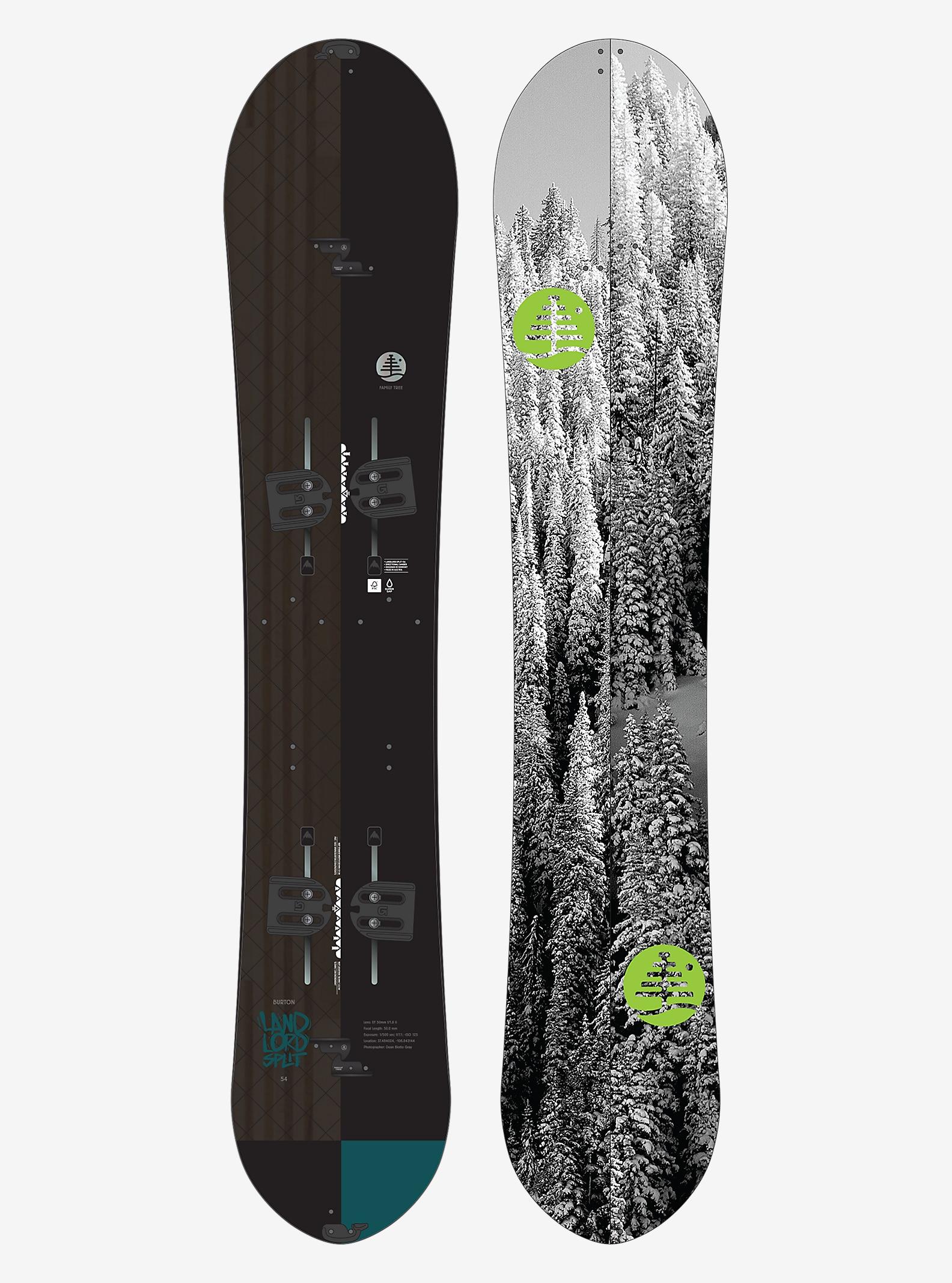 Burton - Snowboard Landlord Split de Family Tree affichage en 154