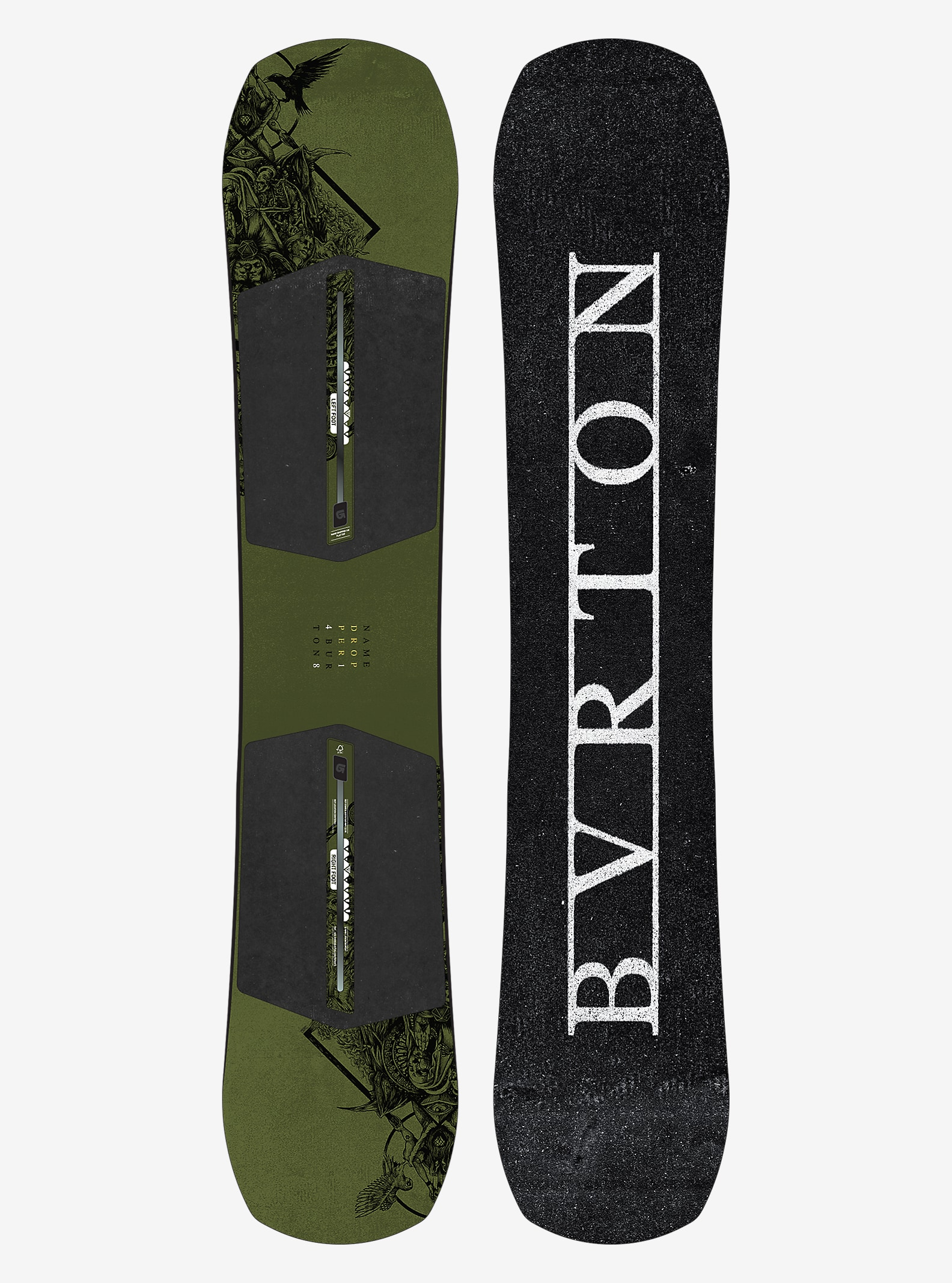 Burton Name Dropper Snowboard angezeigt in 148