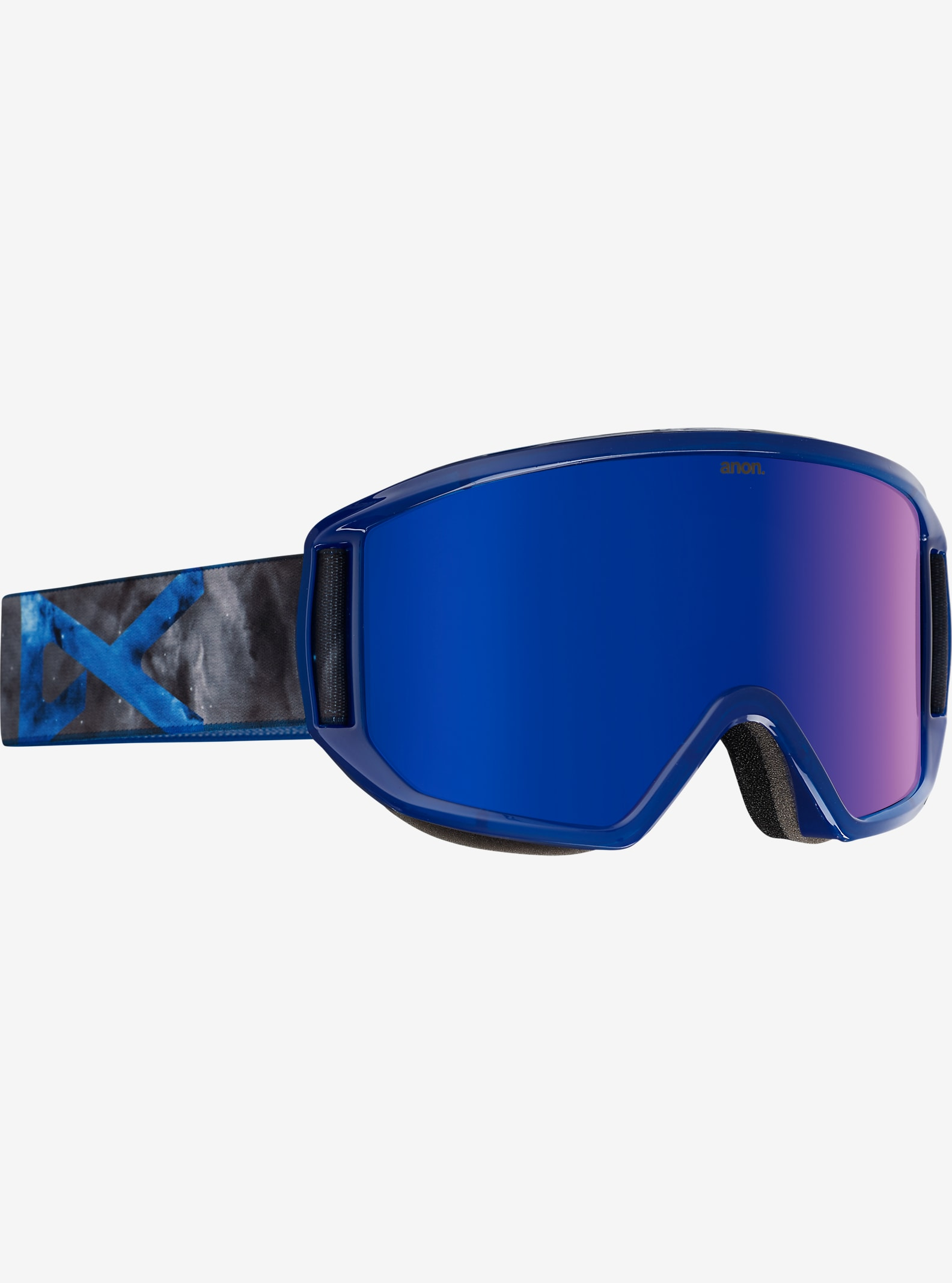 anon. Relapse Goggle shown in Frame: Supernova, Lens: Blue Cobalt