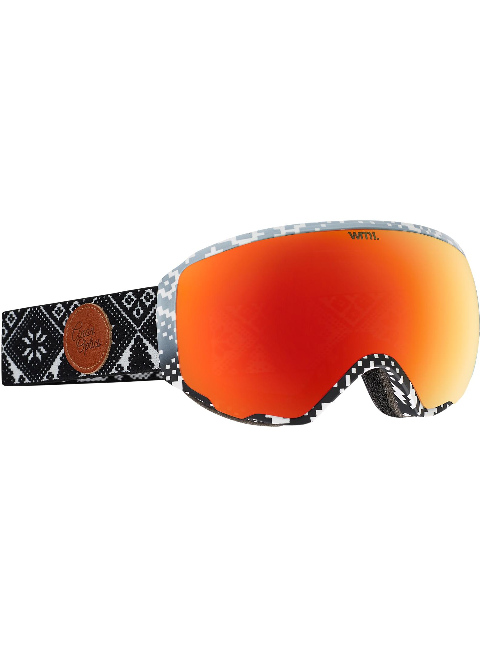 anon. WM1 Goggle angezeigt in Rahmen: Apres, Brillenglas: Red Solex