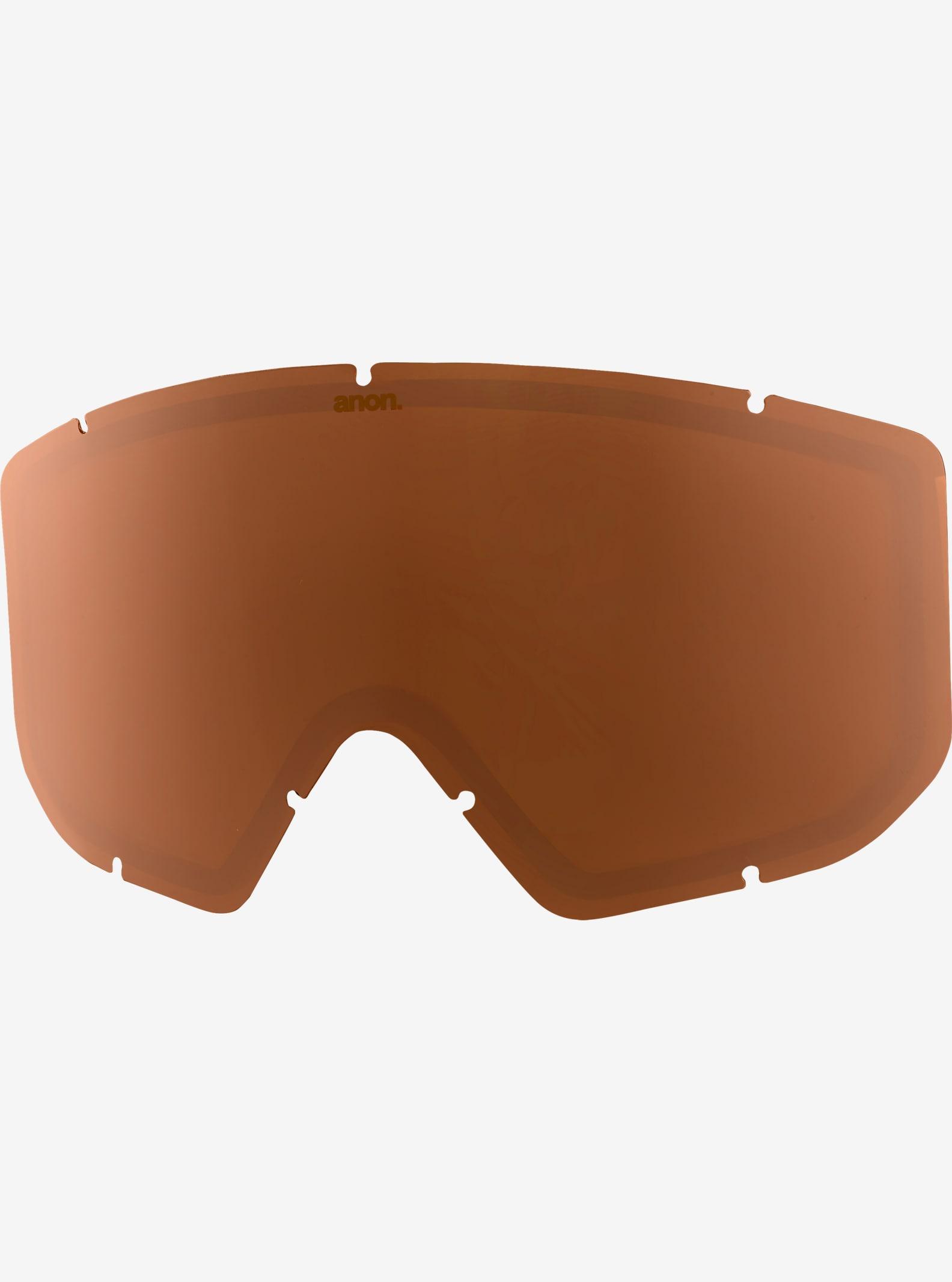 anon. Relapse Goggle Lens shown in Amber (55% VLT)