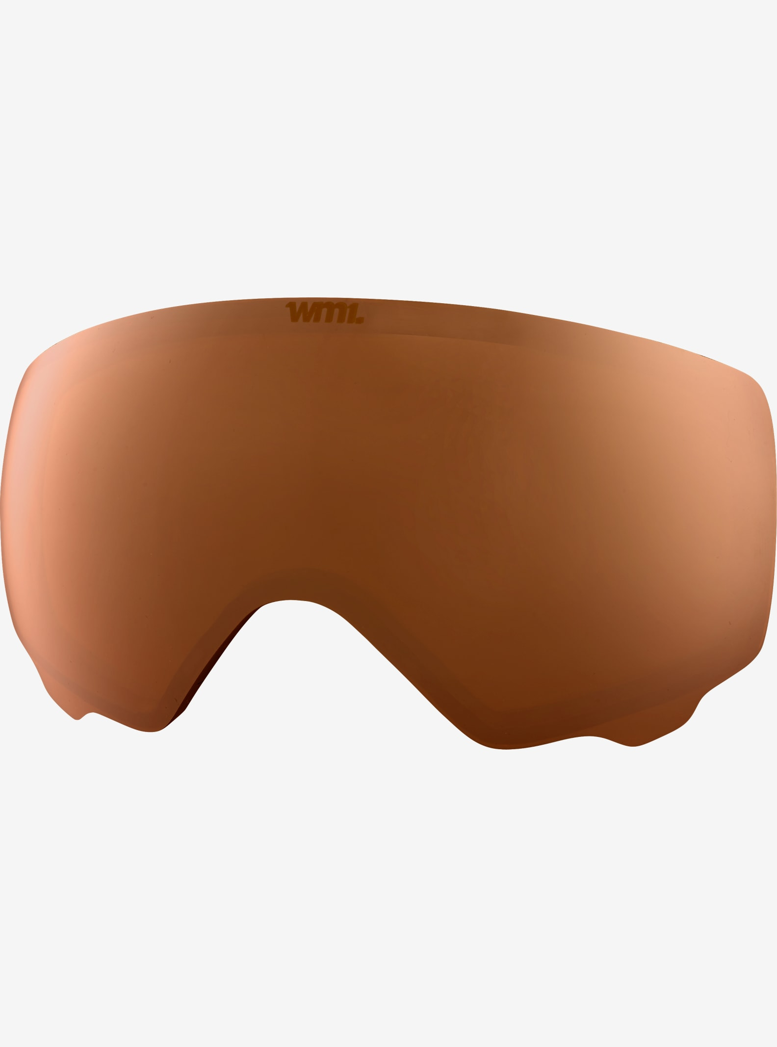 anon. WM1 Goggle Lens shown in Amber (55% VLT)