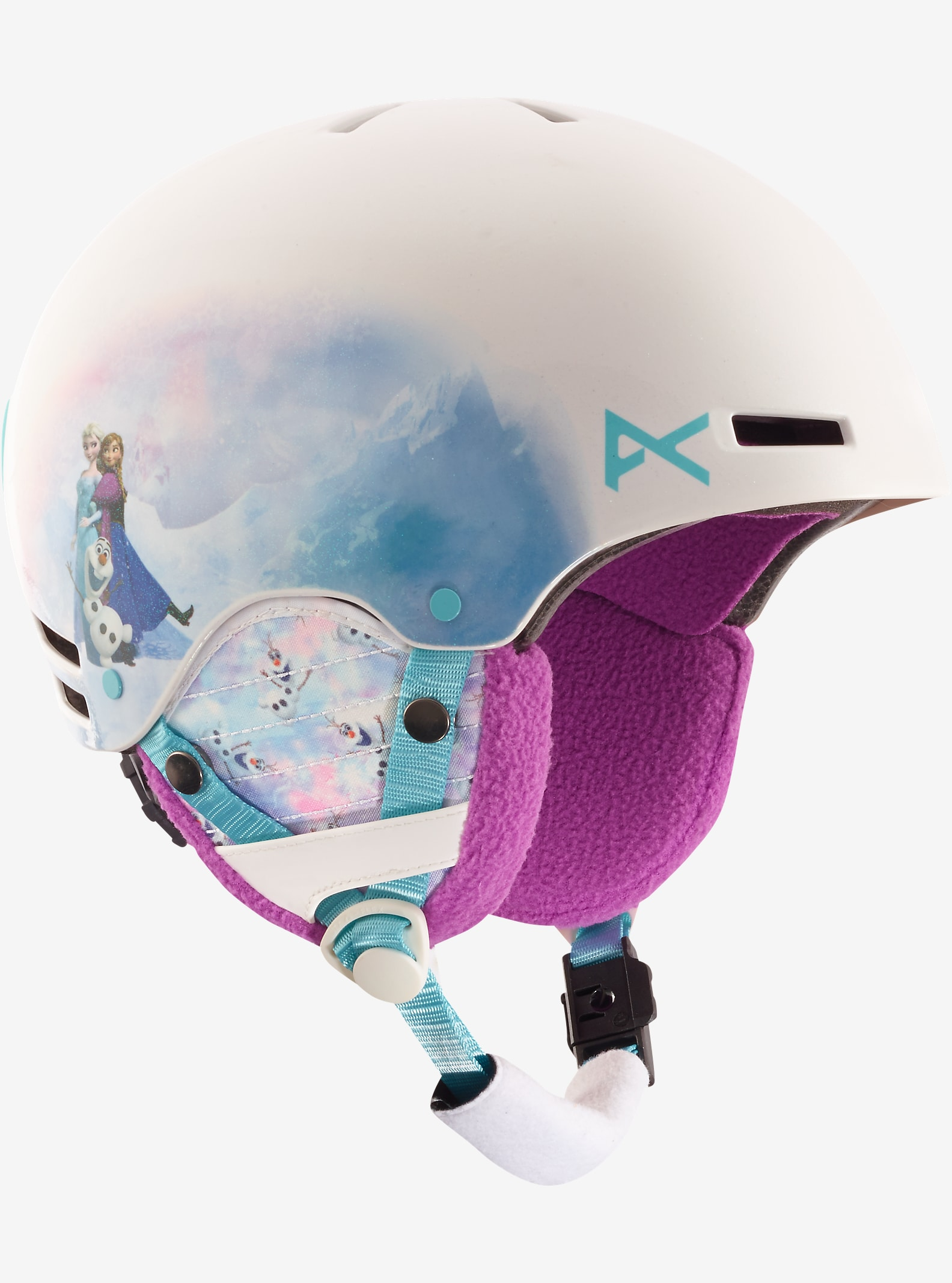 Frozen de Disney - Casque Rime par anon. affichage en La reine des neiges © Disney