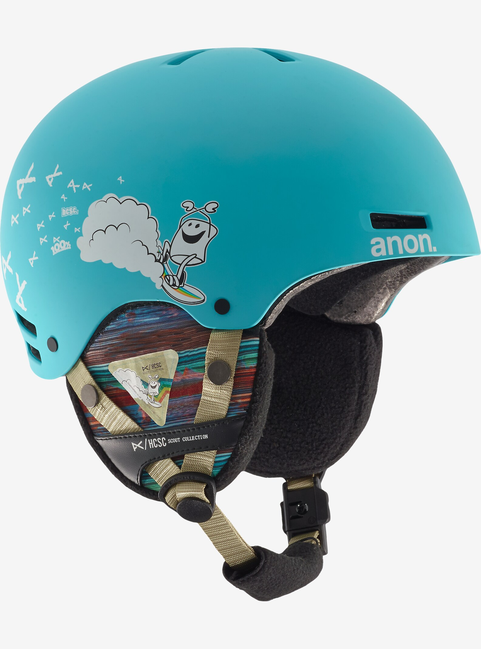 HCSC x anon. Boys' Rime Helmet shown in HCSC