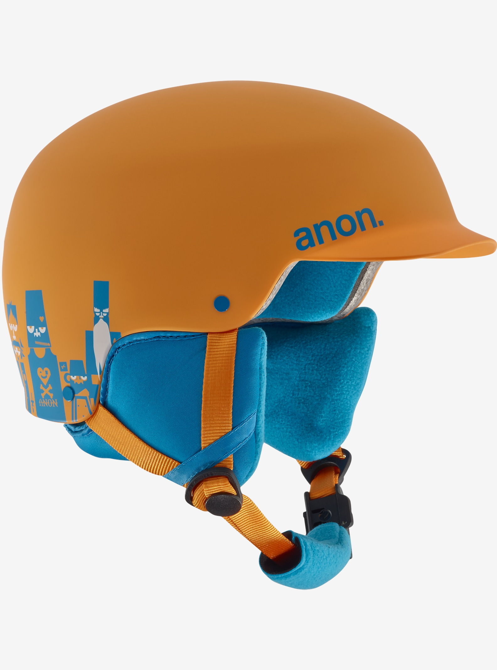anon. Boys' Scout Helmet shown in Motley Orange