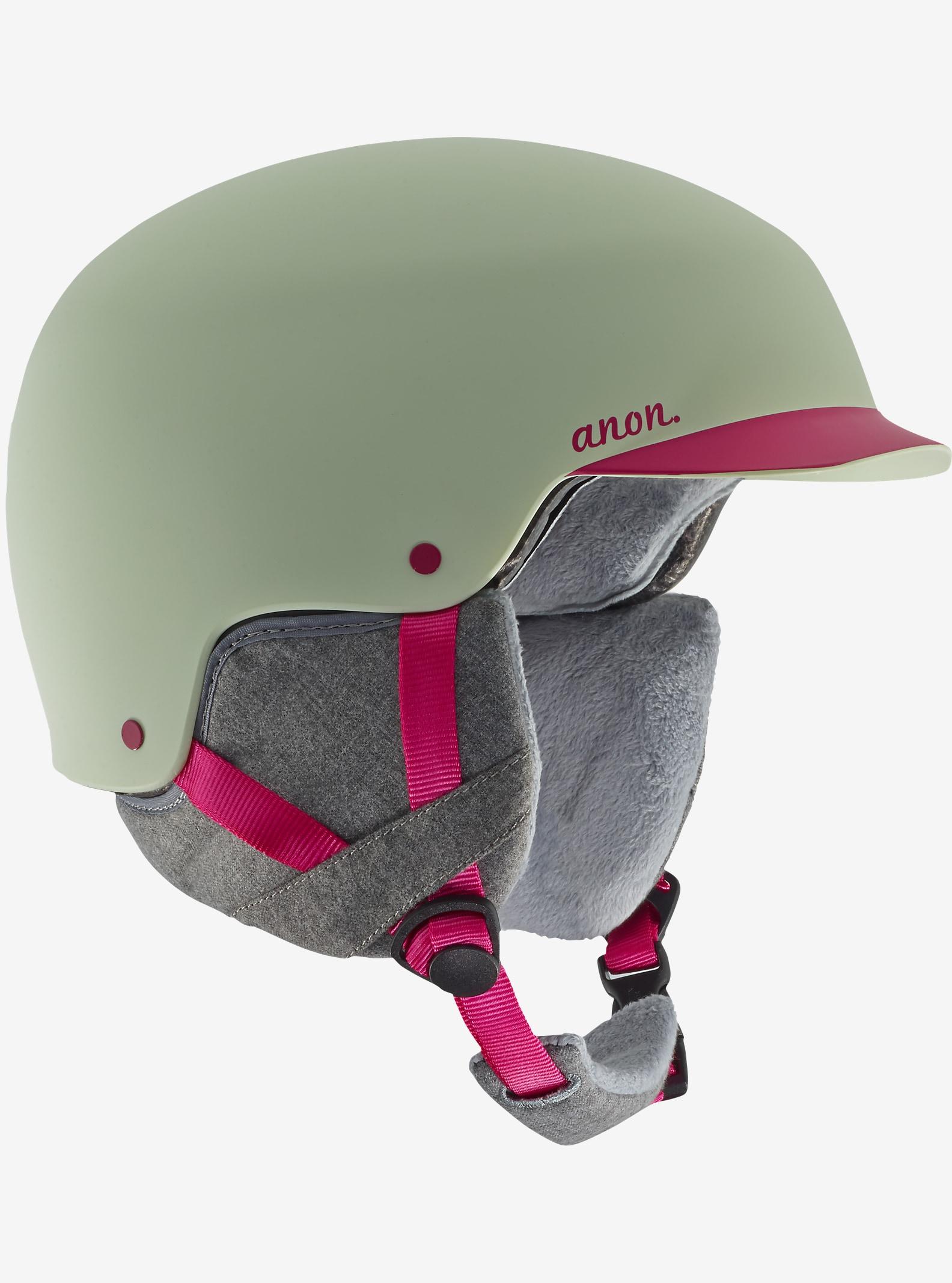 anon. Aera Helmet shown in Strawberry Cream