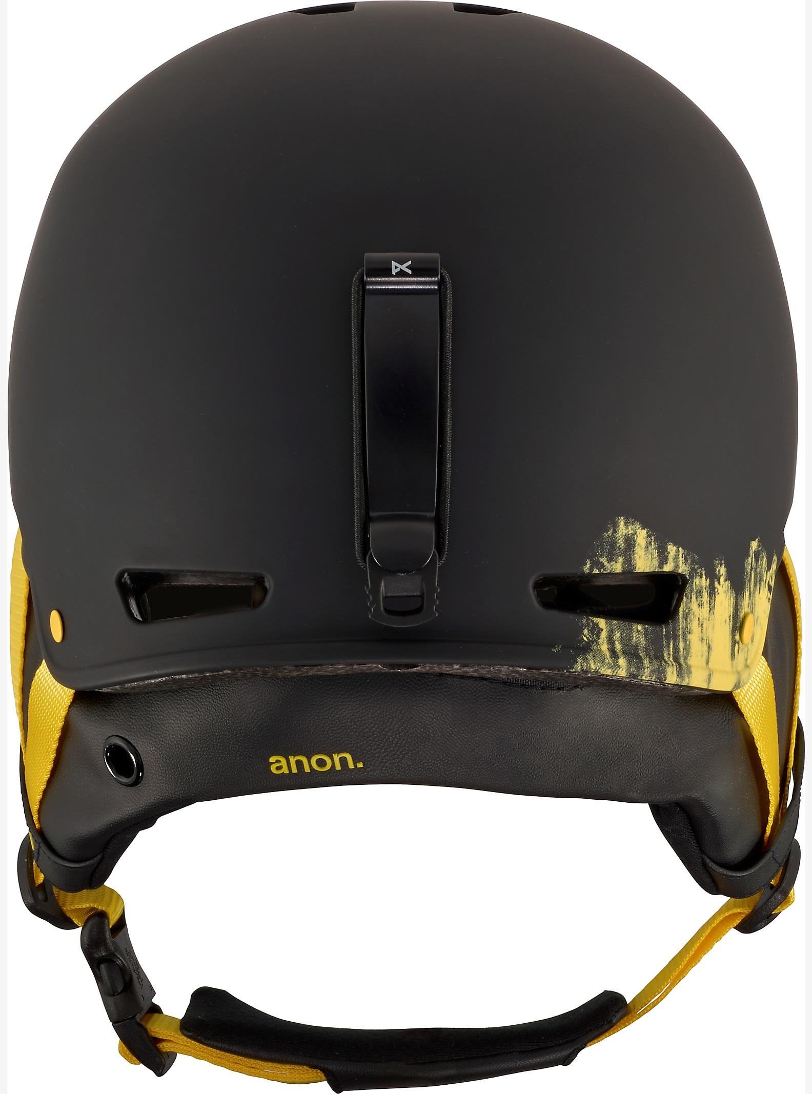 anon. Striker Helmet shown in Grunge Black