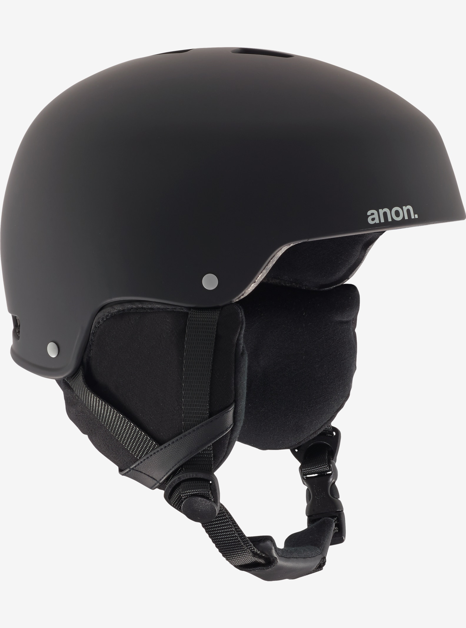 anon. Striker Helmet shown in Grunge Black
