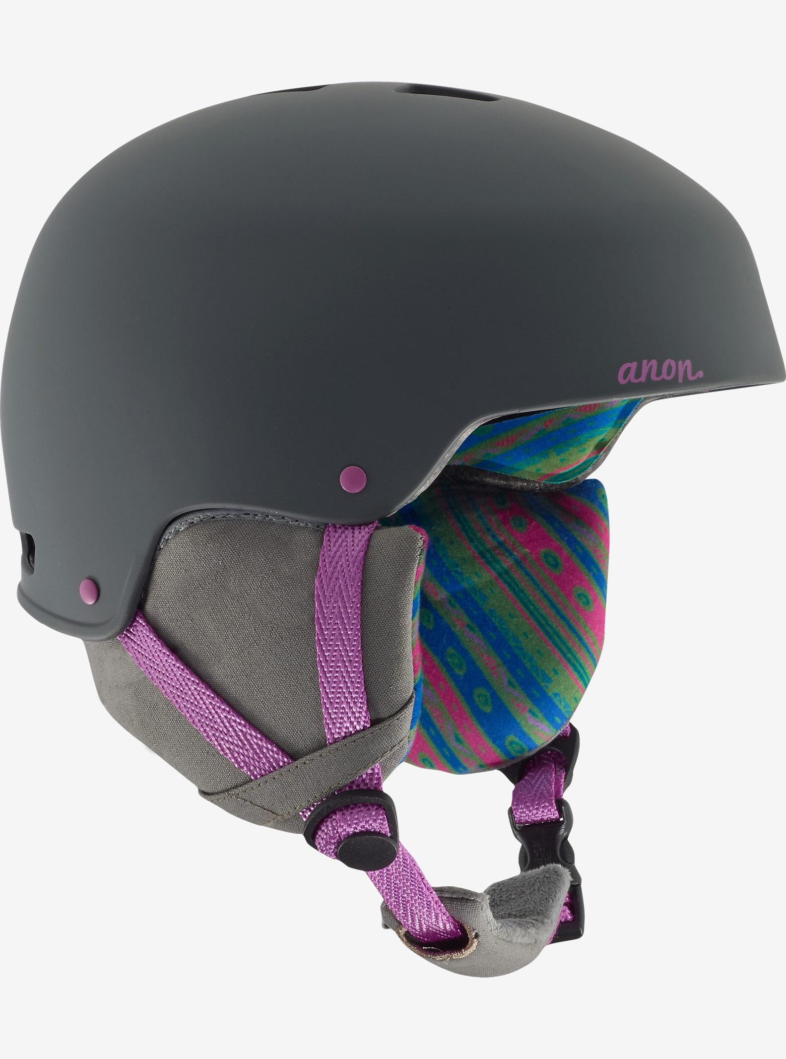anon. Lynx Helmet shown in Tribe Gray
