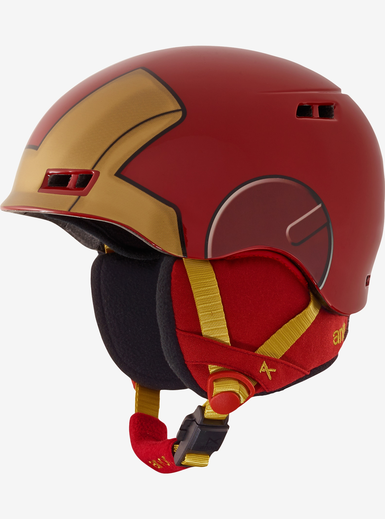 Marvel® x anon. Boys' Burner Helmet shown in Iron Man™ ©2016 Marvel