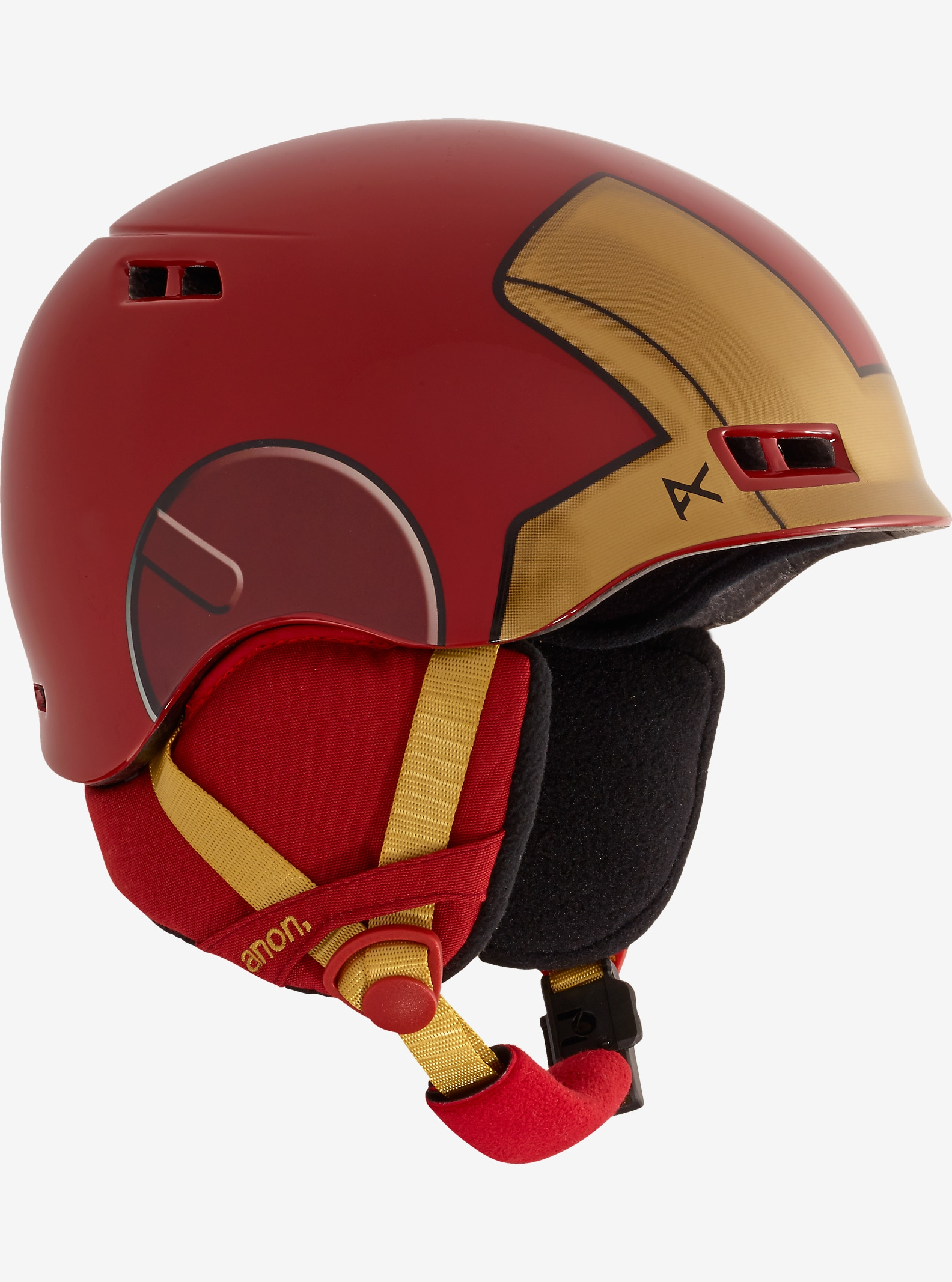 Marvel® x anon. Boys' Burner Helmet shown in Iron Man™ ©2016 Marvel & Subs.