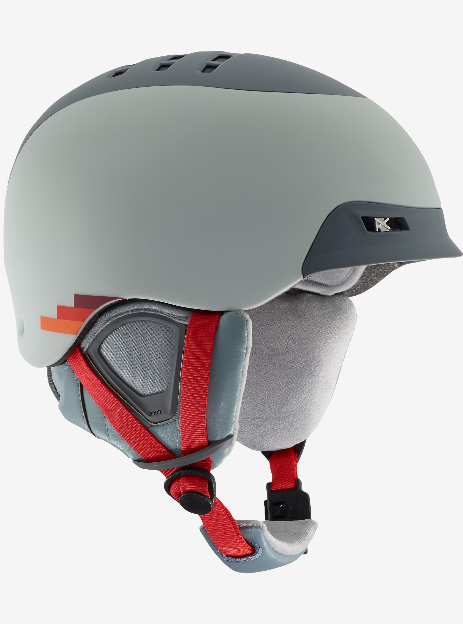 anon. Nelson Helmet shown in VHS Gray