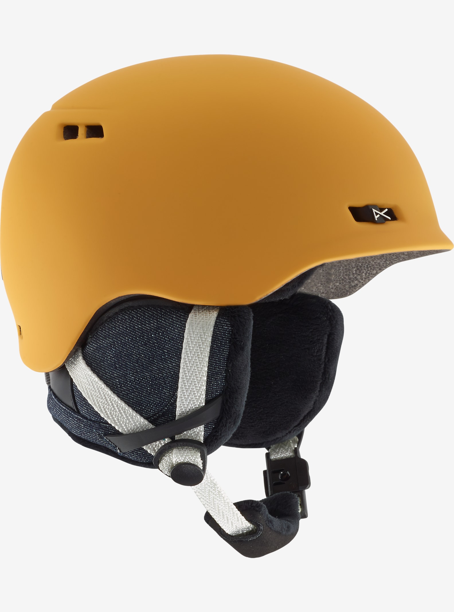 anon. Griffon Helmet shown in Curry Yellow