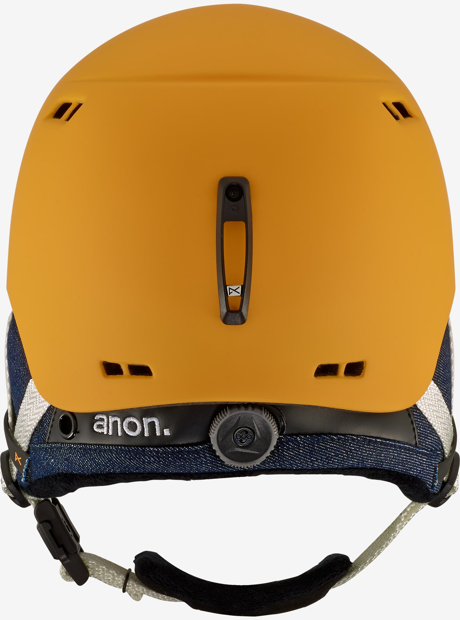 anon. - Casque Griffon affichage en Curry Yellow