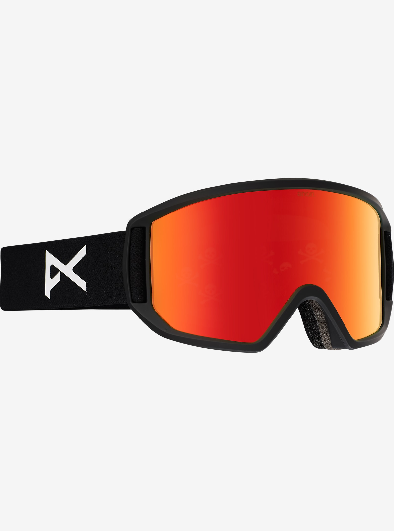 Black Scale x anon. Relapse Goggle shown in Frame: Black Scale, Lens: Red Solex