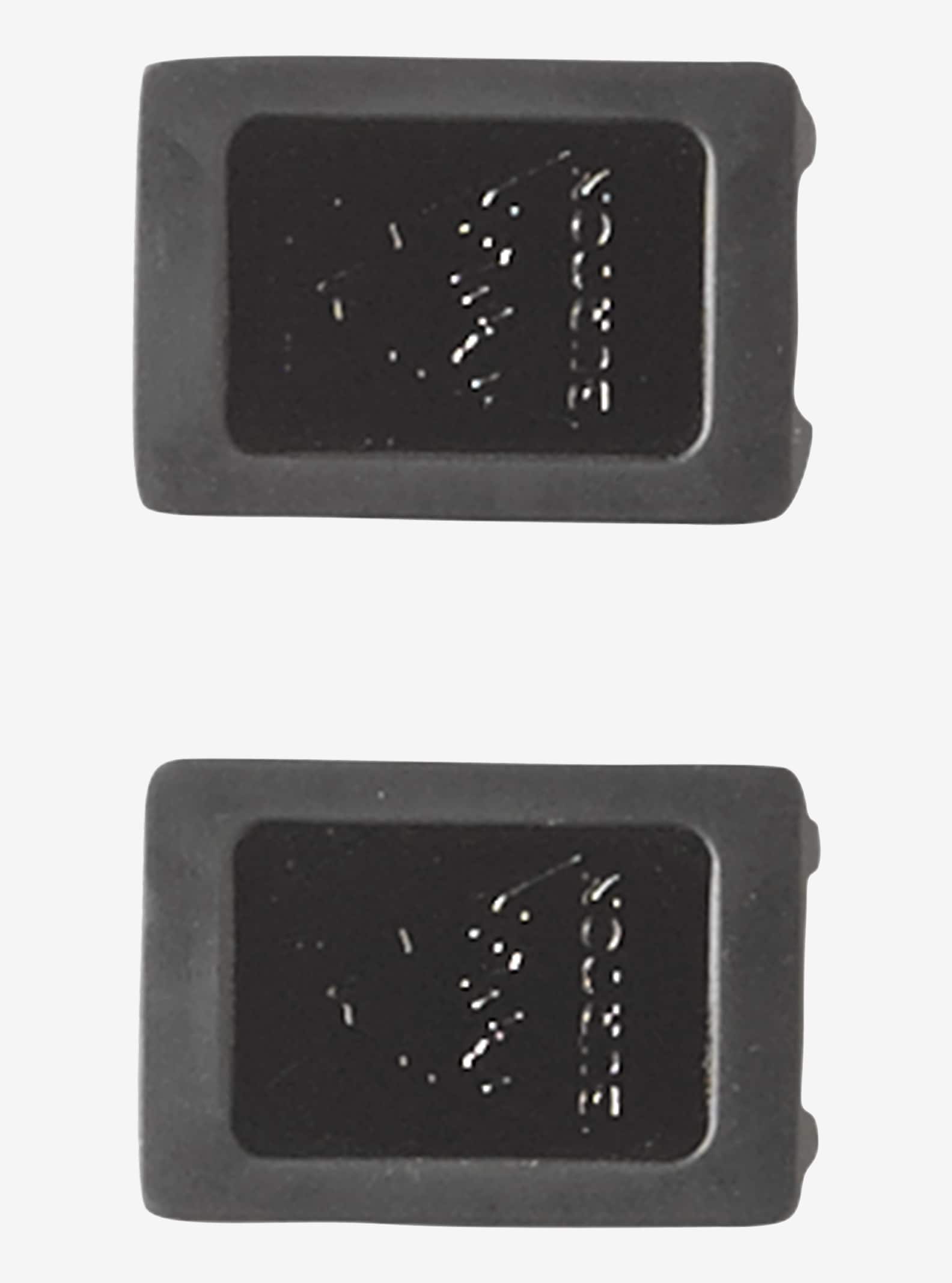Burton Channel Plugs shown in Mountain Logo