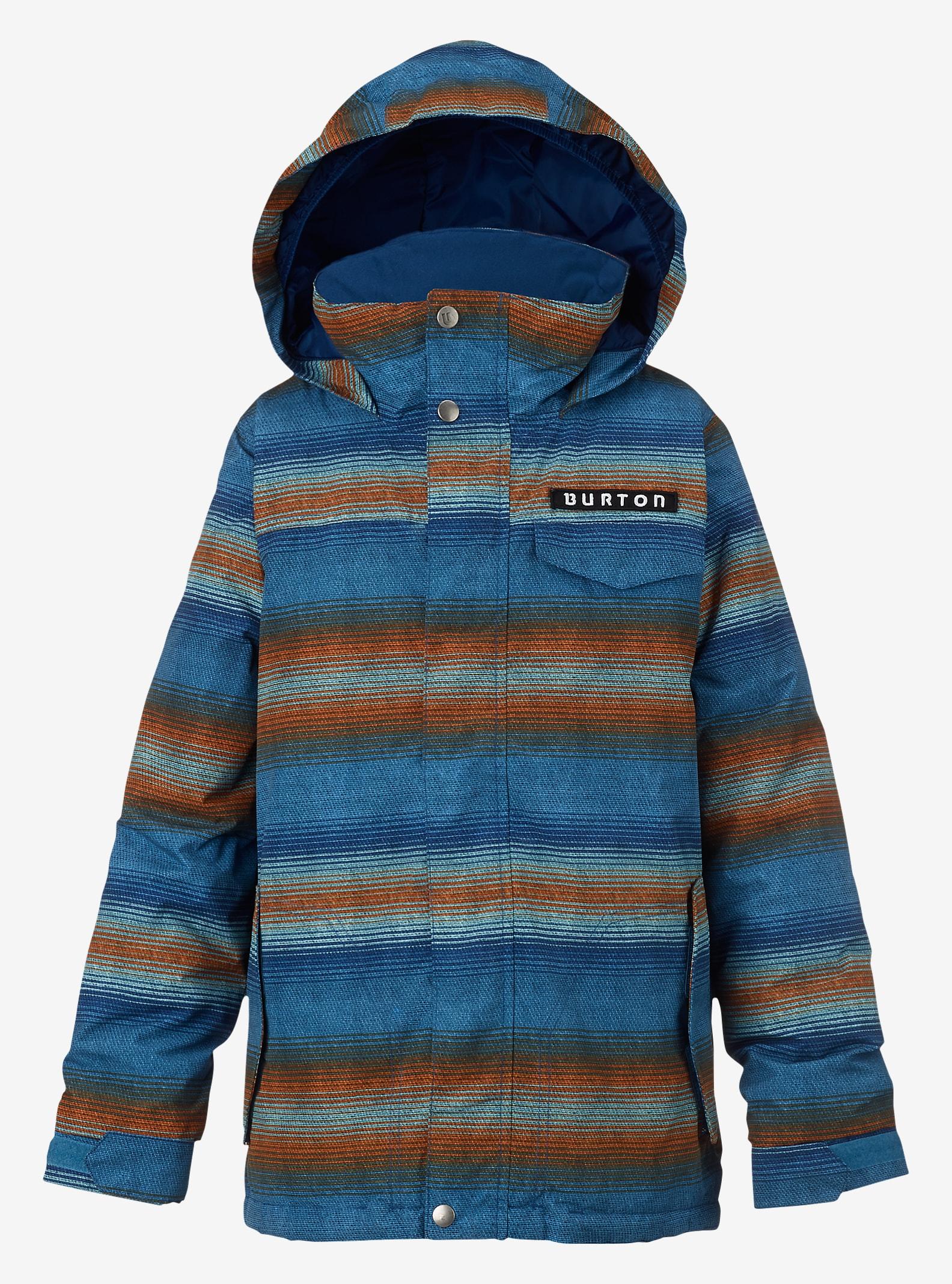 Burton Amped Jacke für Jungen angezeigt in Glacier Beach Stripe