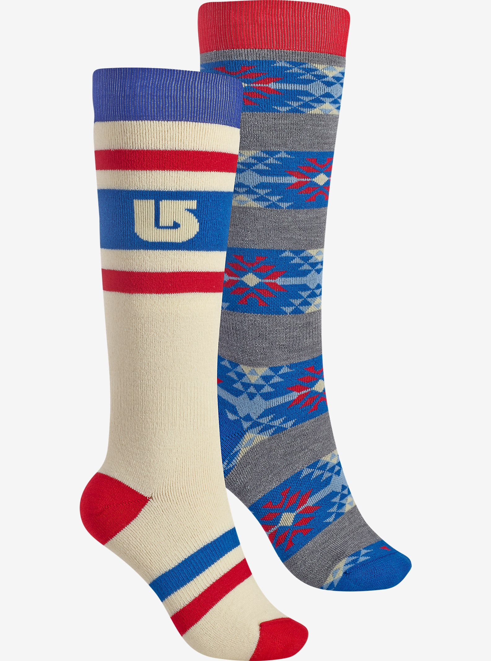 Burton Women's Weekend Sock 2 Pack shown in Canvas