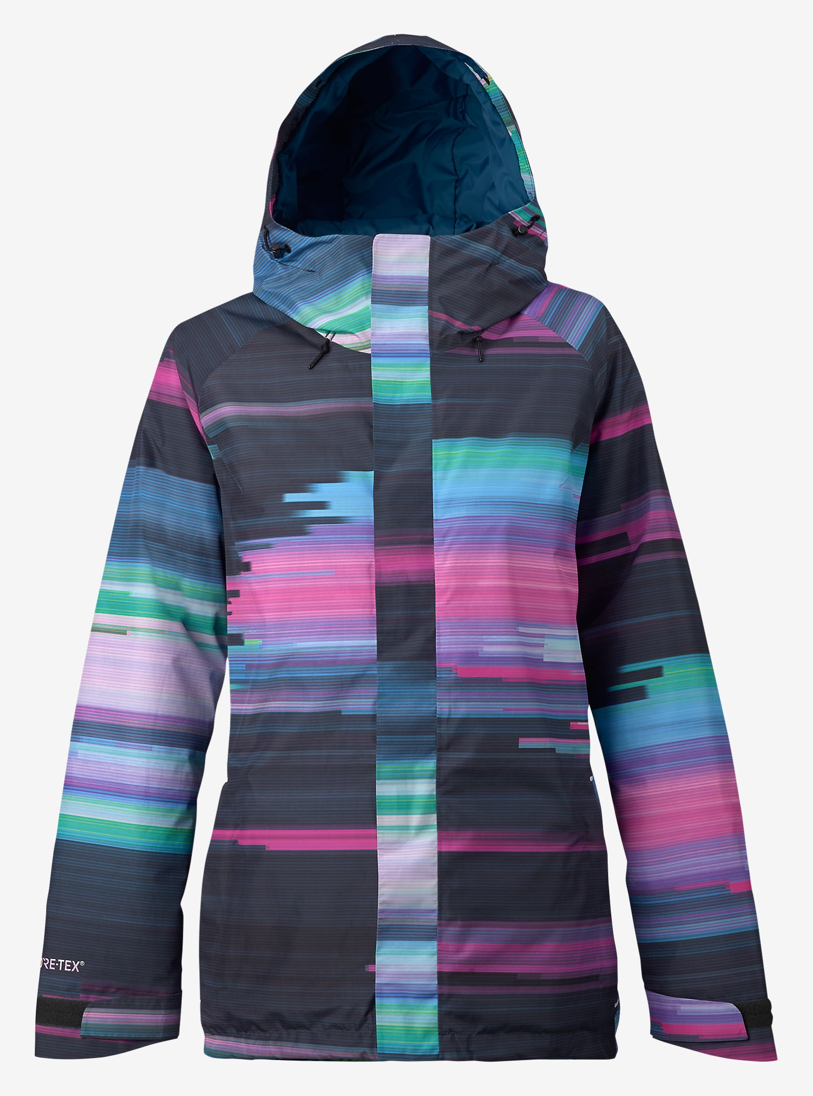 Burton Rubix GORE-TEX® Jacket shown in Jaded Flynn Glitch