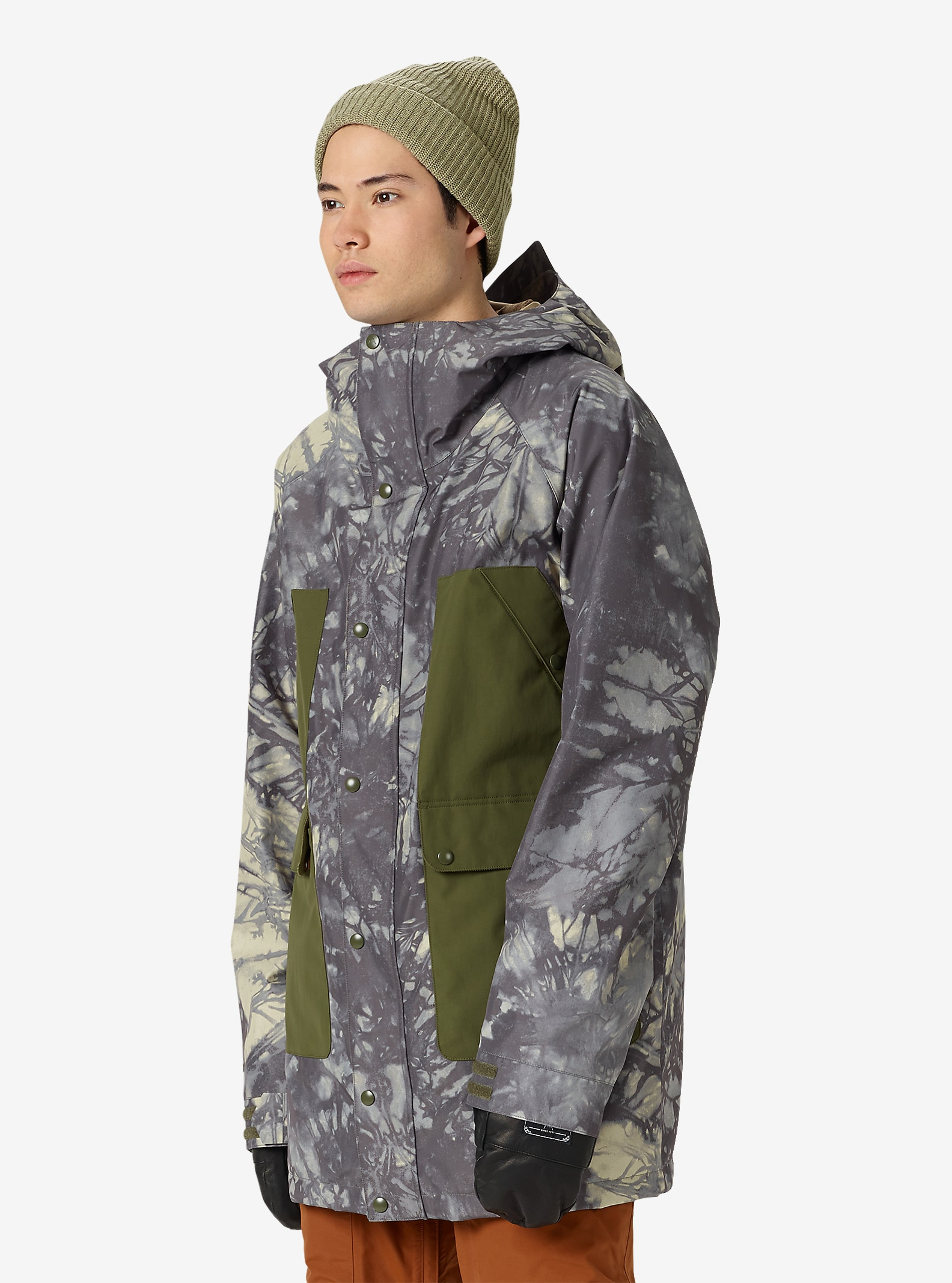 Burton GORE-TEX® Vagabond Jacket shown in Tie Dye Trench / Keef
