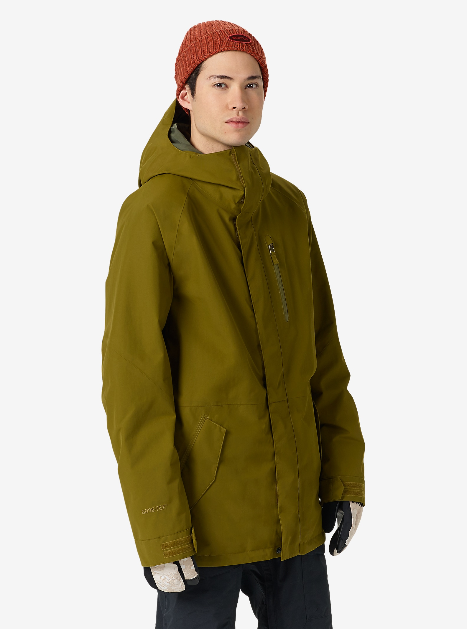 Burton Radial Jacket shown in Fir