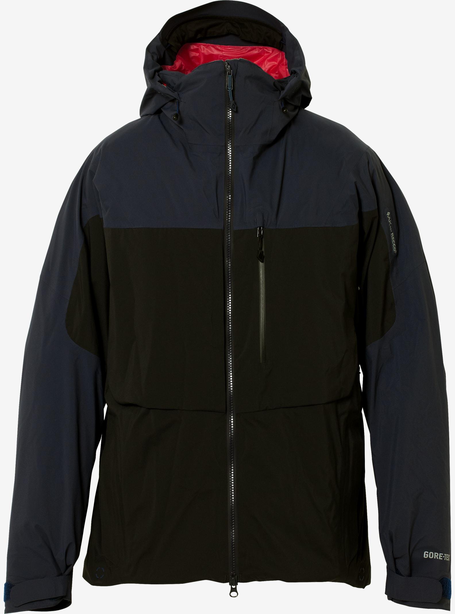 Burton AK457 Light Down Jacket shown in True Black / Navy