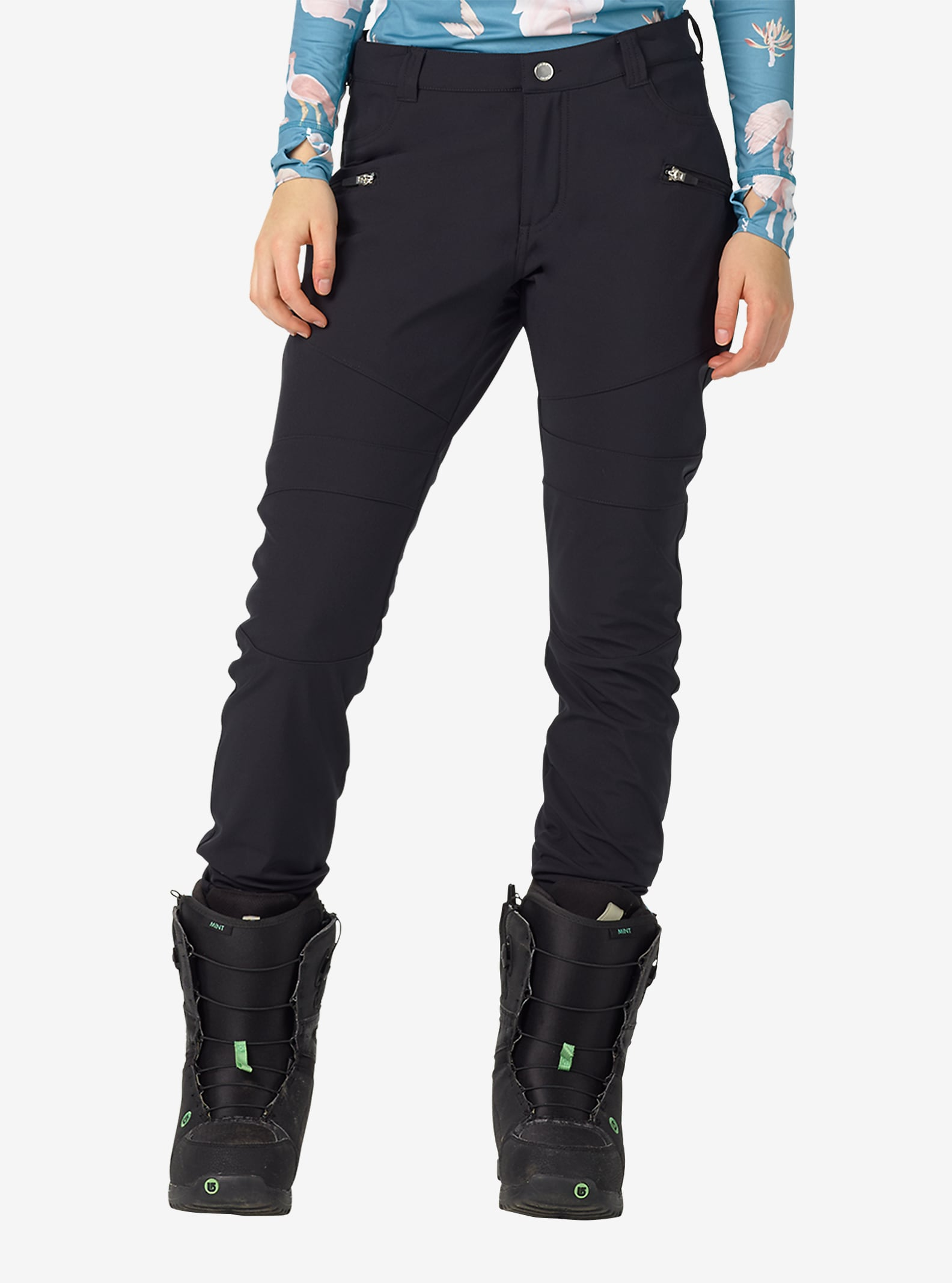 Burton Ivy Pant shown in True Black