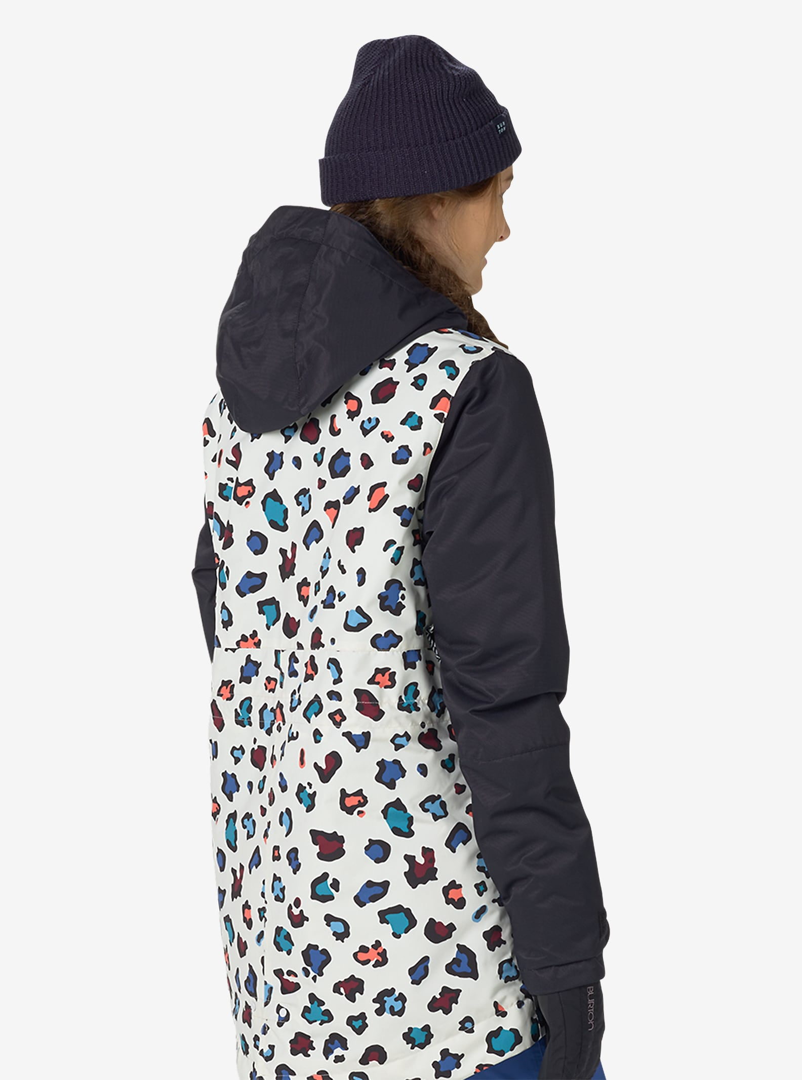 Burton TWC Troublemaker Jacke angezeigt in Rainbow Cheetah / True Black
