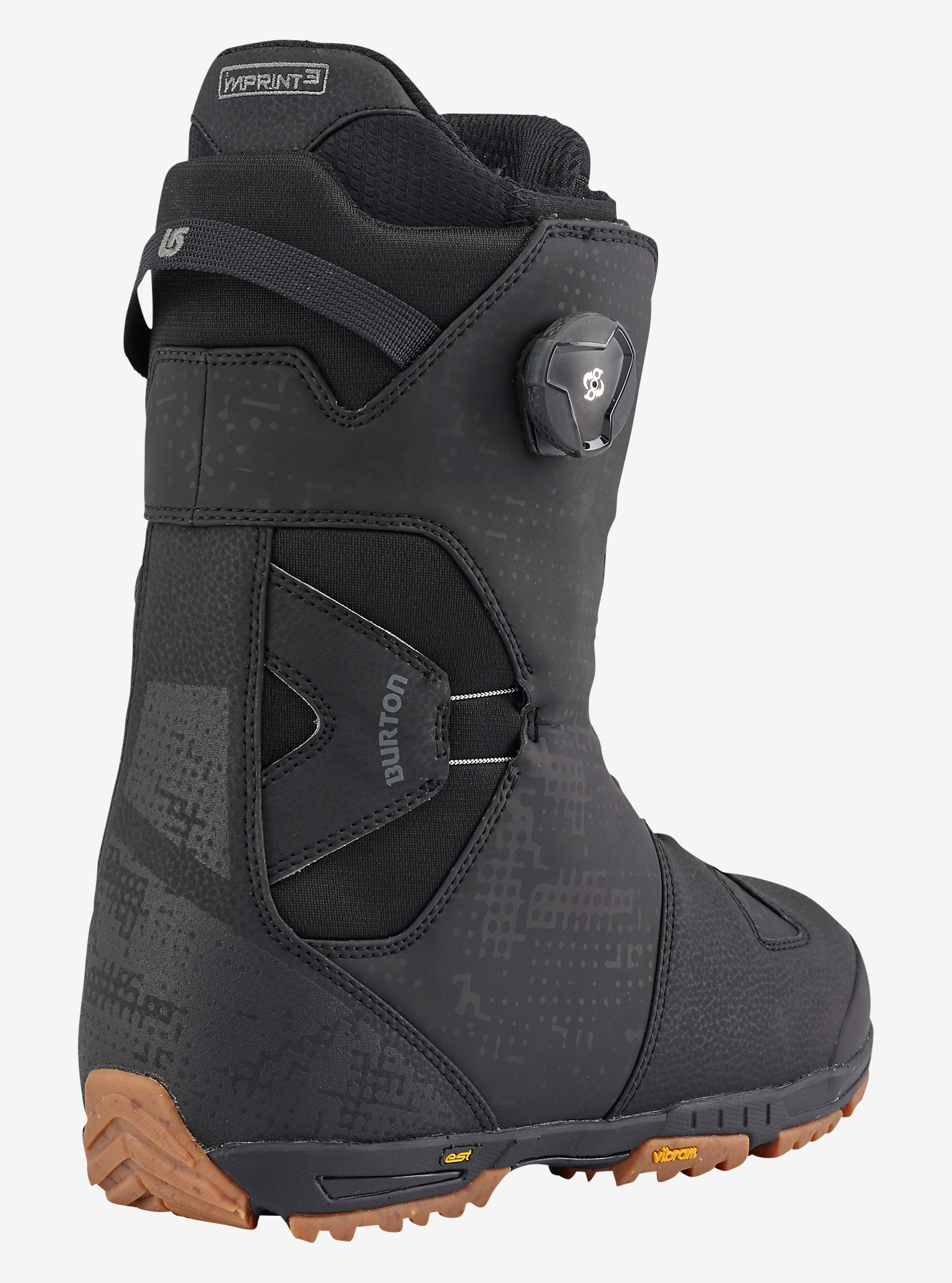 Burton Photon Boa® Snowboard Boot shown in Black / Gum