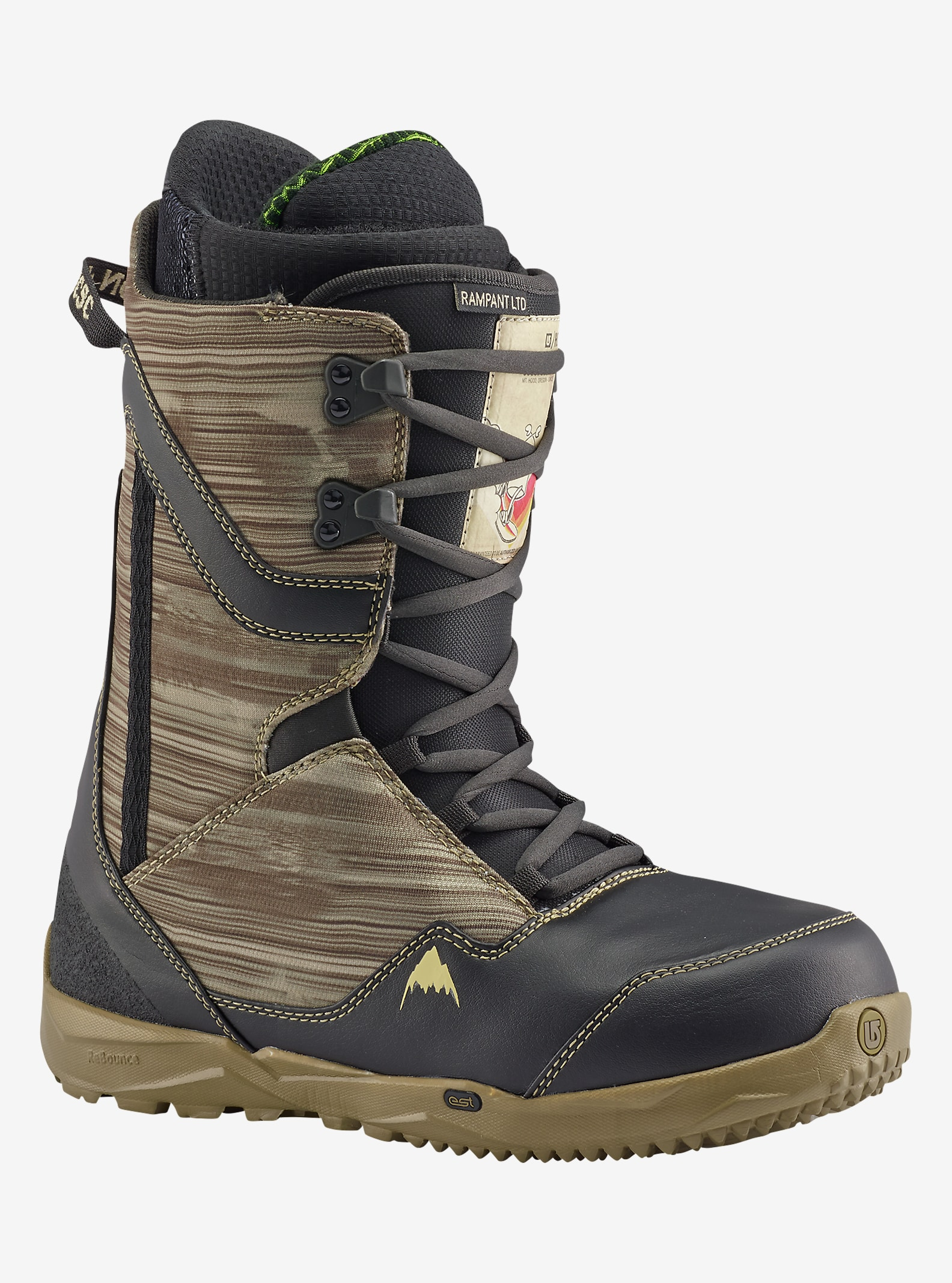 HCSC x Burton Rampant LTD Snowboard Boot shown in HCSC
