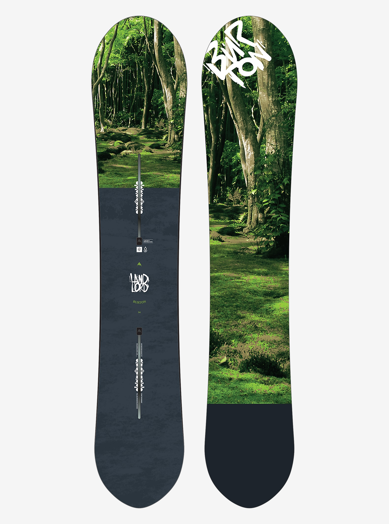 Burton Landlord Snowboard shown in 154