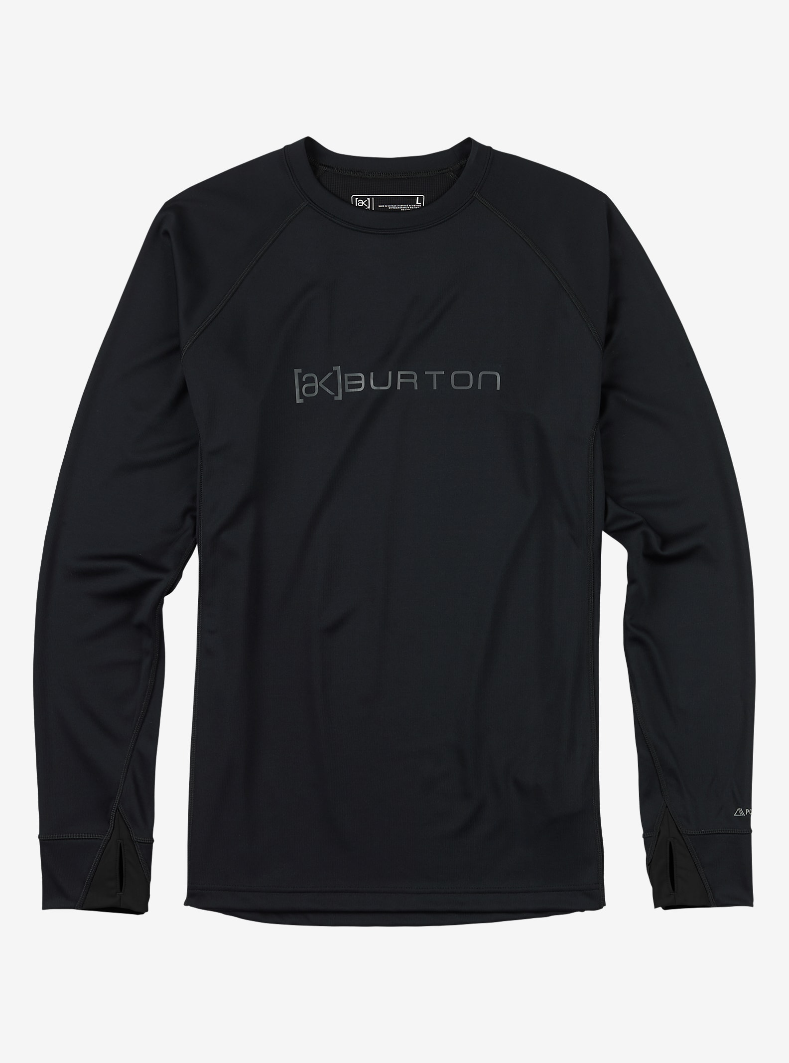 Burton [ak] Power Grid® Crew shown in True Black