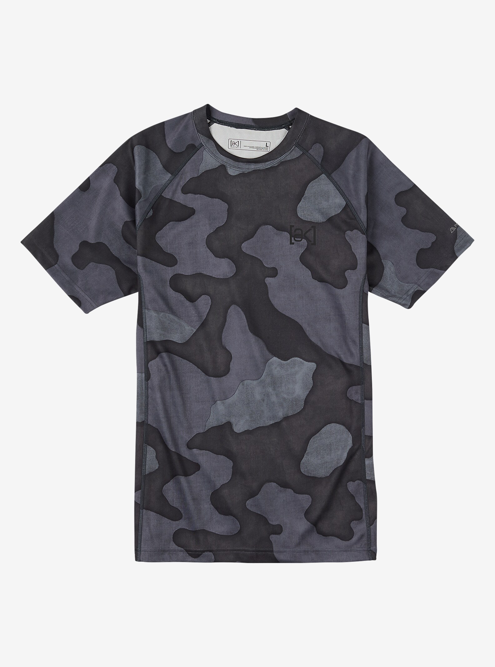 Burton [ak] Power Grid® SS Crew shown in Black Hombre Camo