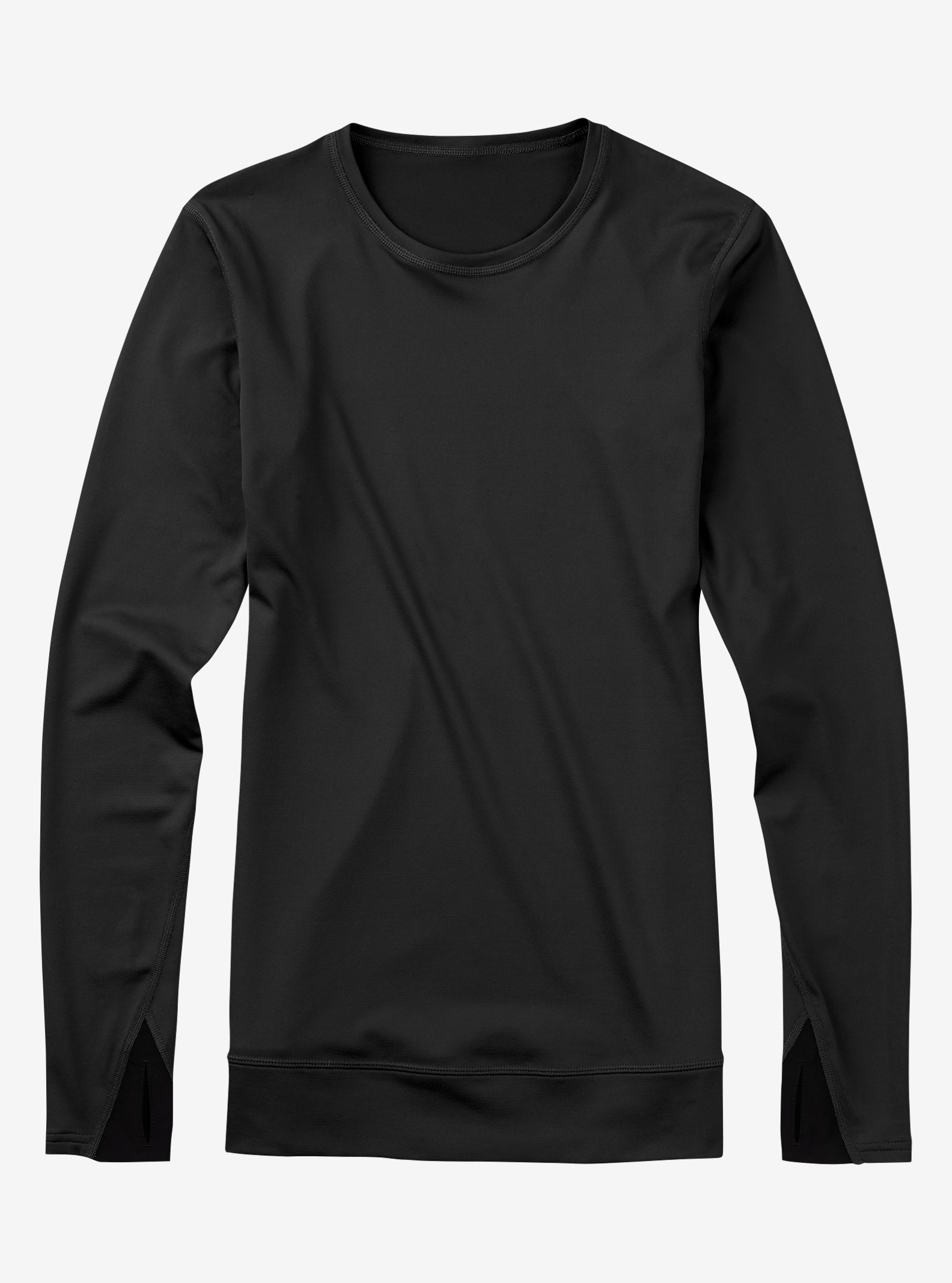 Burton Women's [ak] Power Stretch® Crew shown in True Black
