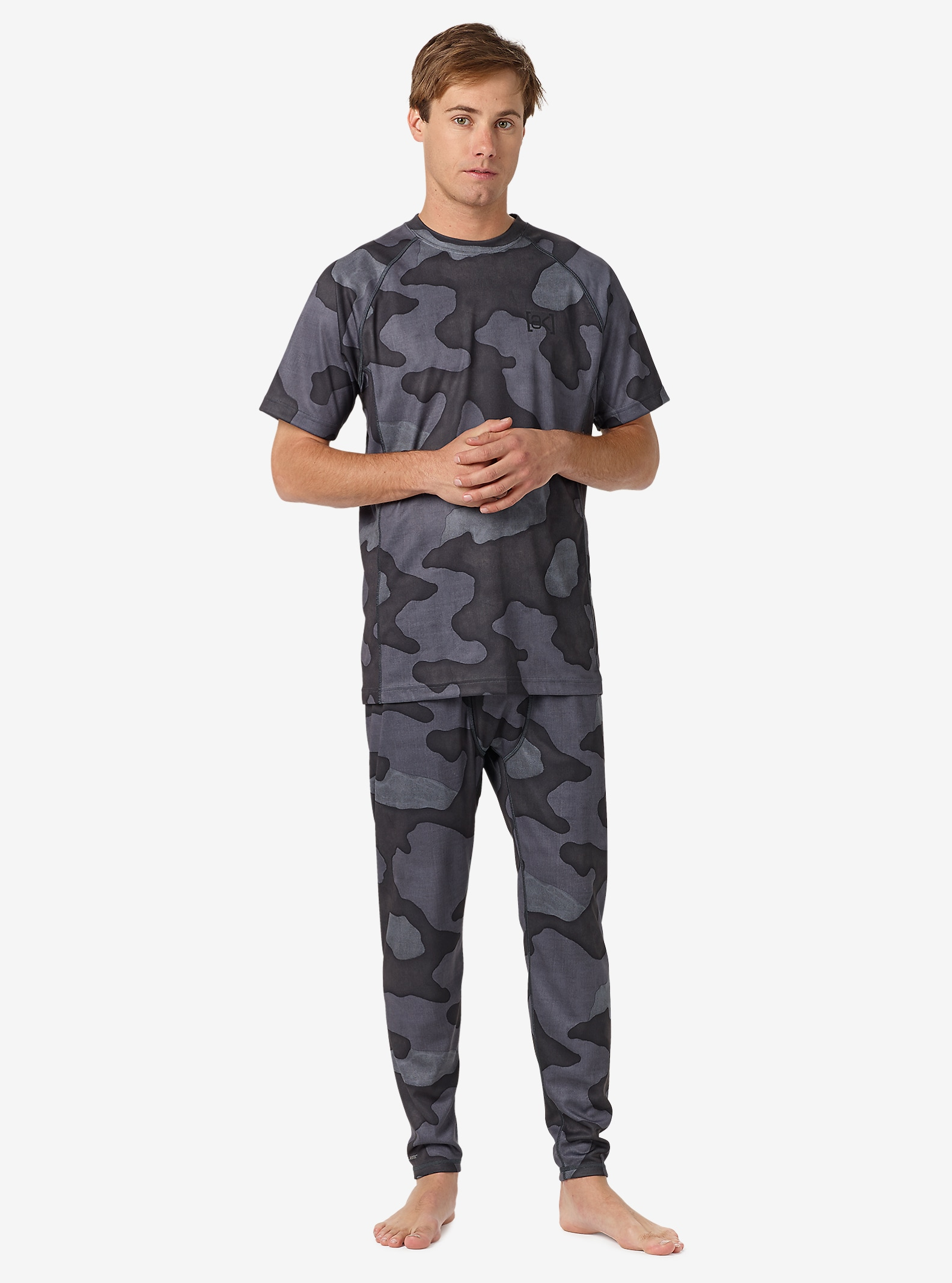 Burton [ak] Power Grid® Hose angezeigt in Black Hombre Camo