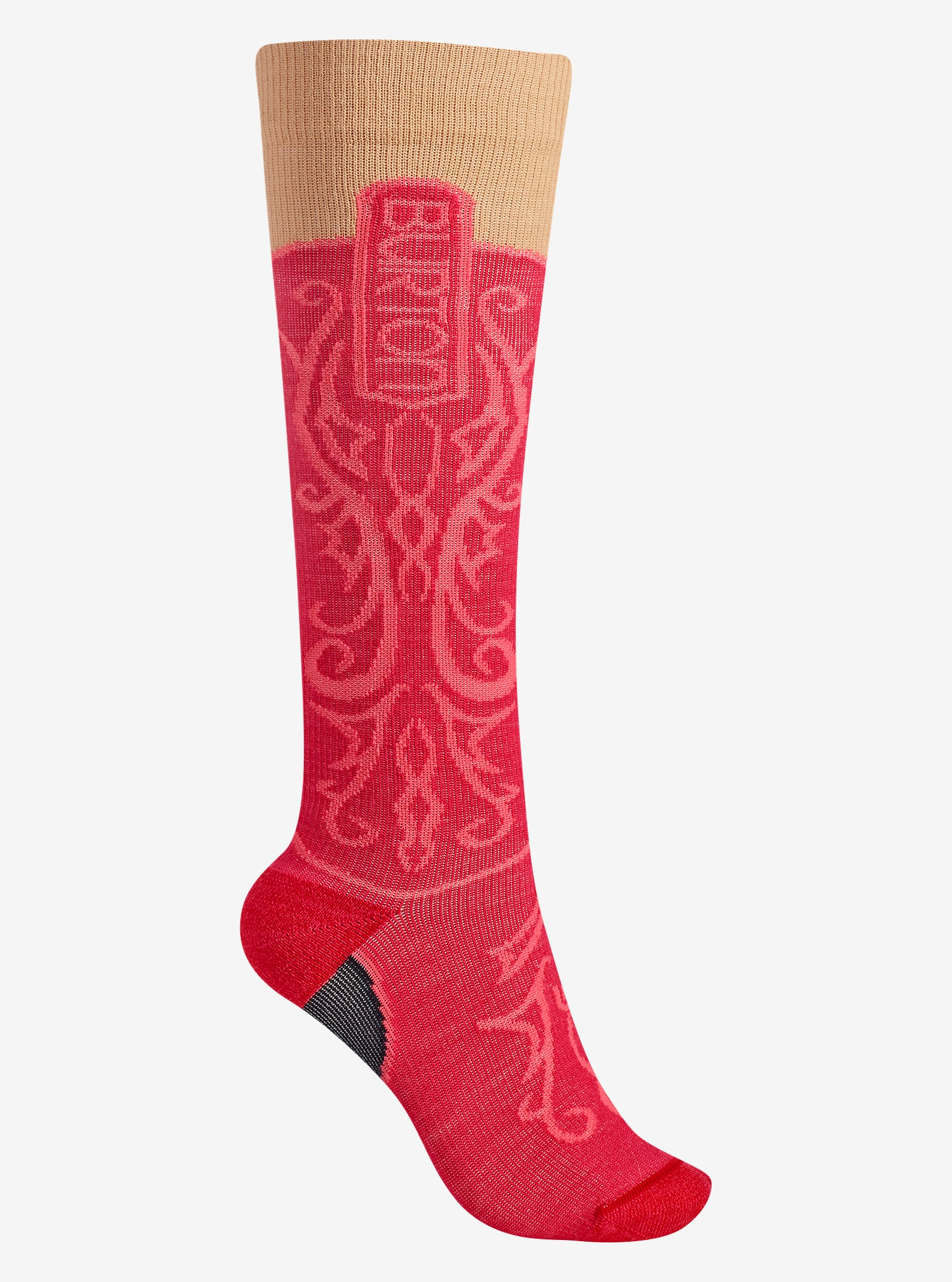 Burton Women's Super Party Sock shown in Cowgirl