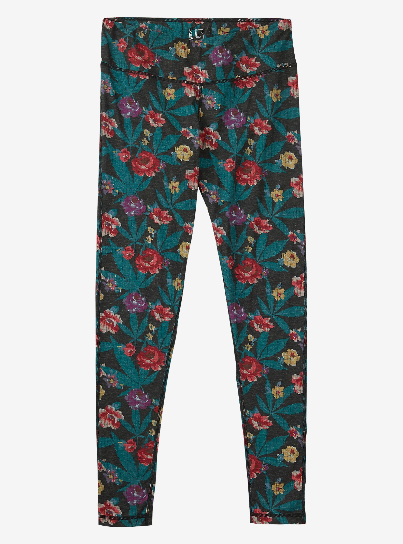 Burton Women's Midweight Base Layer Wool Pant shown in Ganja Rose