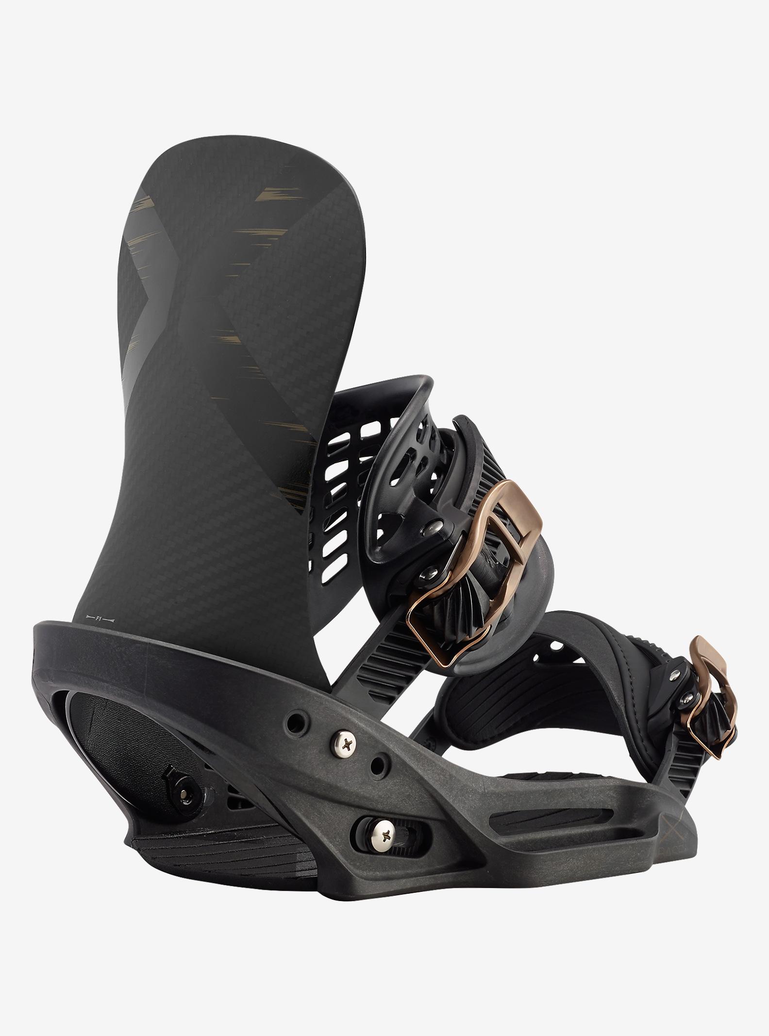 Burton X-Base EST Snowboardbindung angezeigt in Black Mag