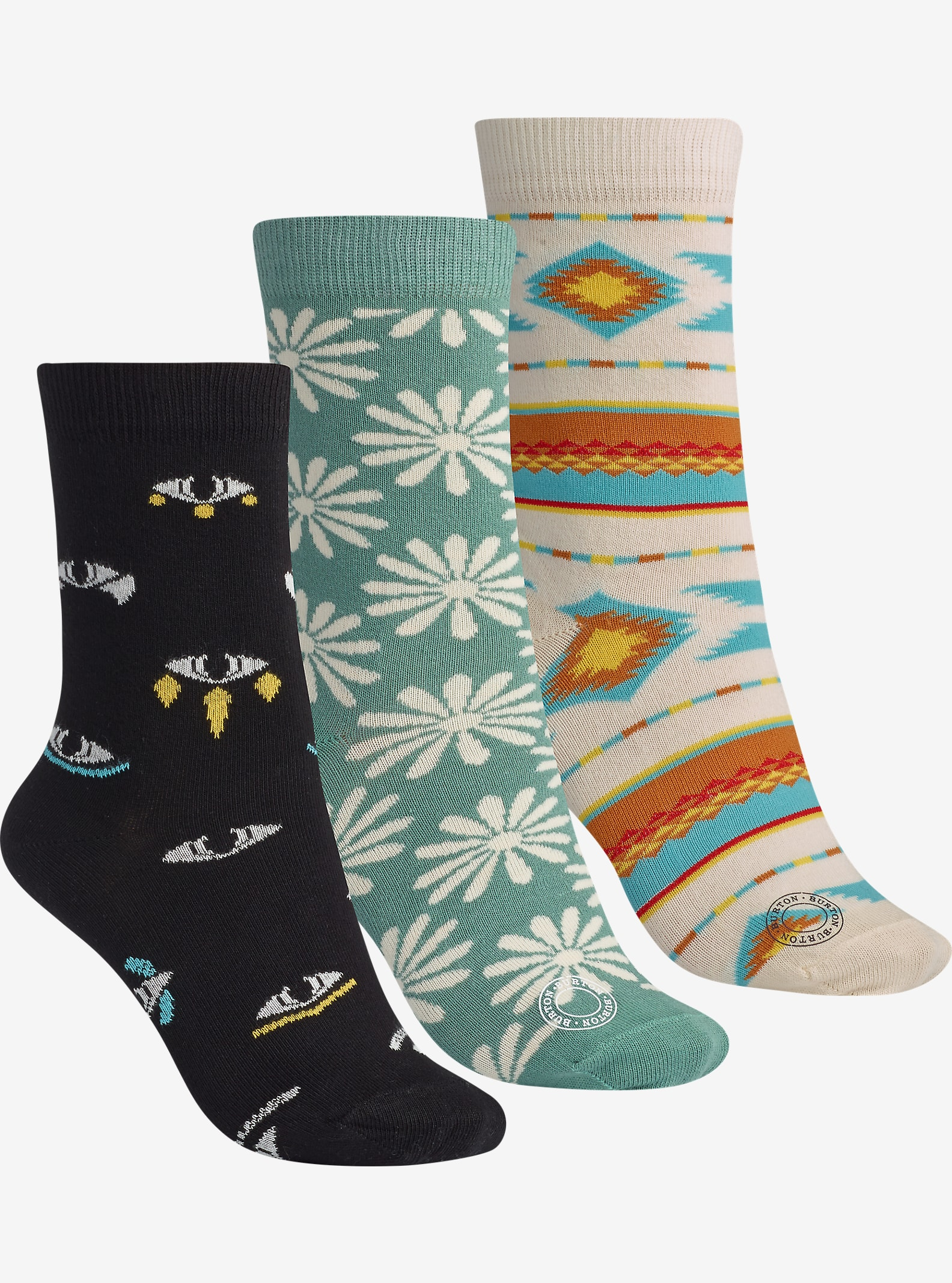 Burton Women's Apres Sock 3 Pack shown in Air Raid