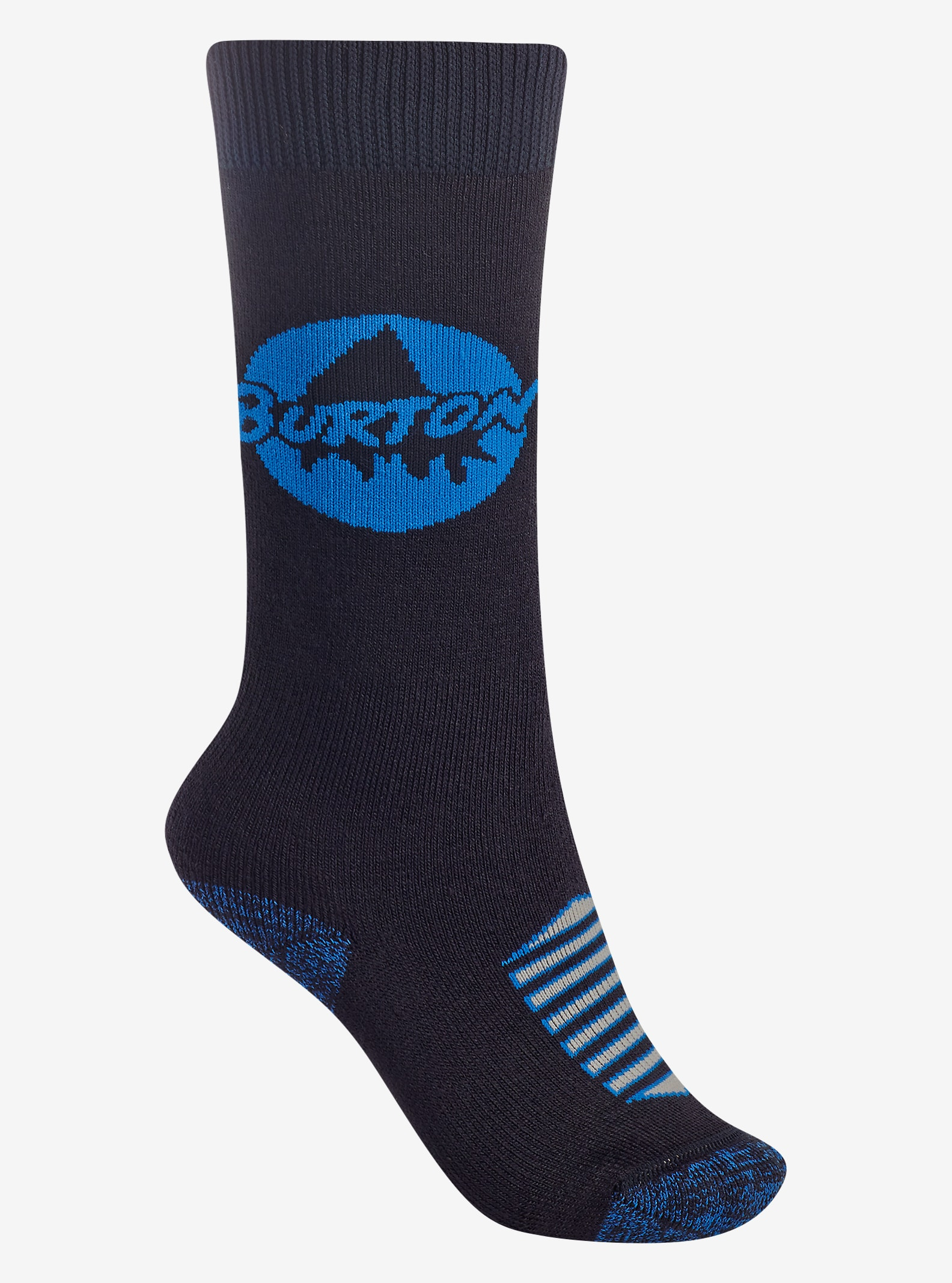 Burton Boys Weekend Sock Two-Pack shown in True Black