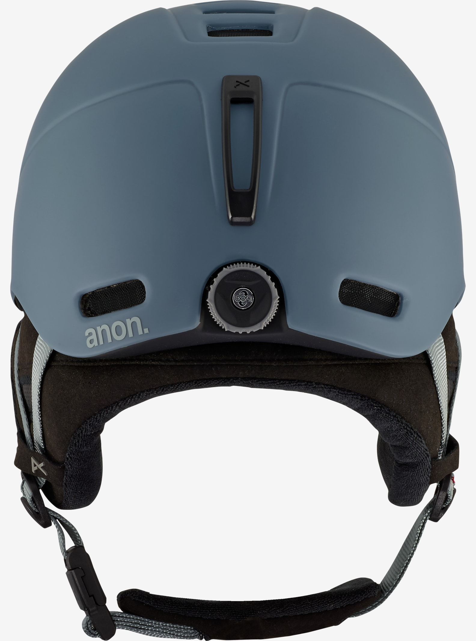 anon. Helo 2.0 Helmet shown in Dark Gray
