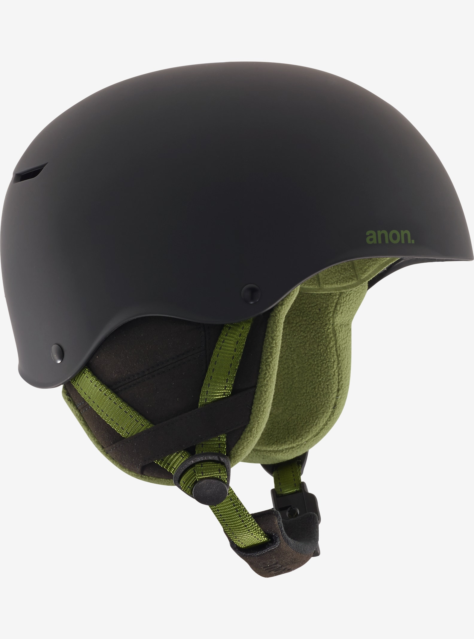 anon. Endure Helmet shown in Black Olive