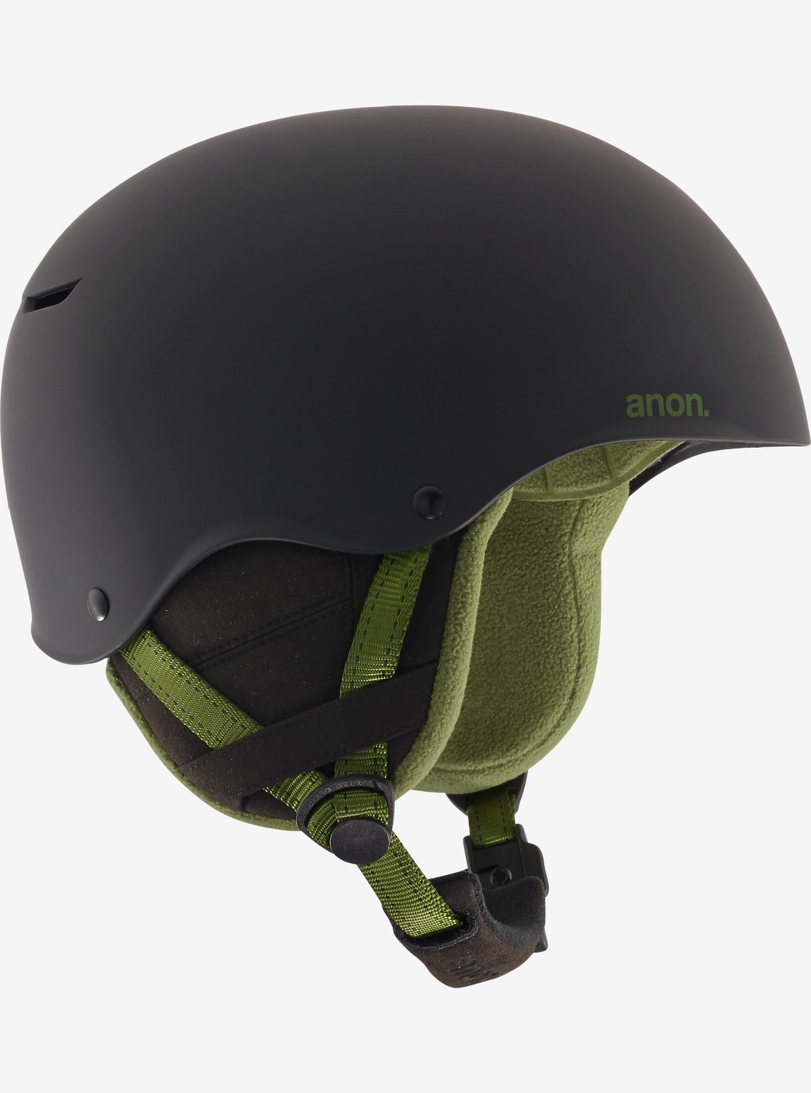 anon. Endure Helmet shown in Black Olive