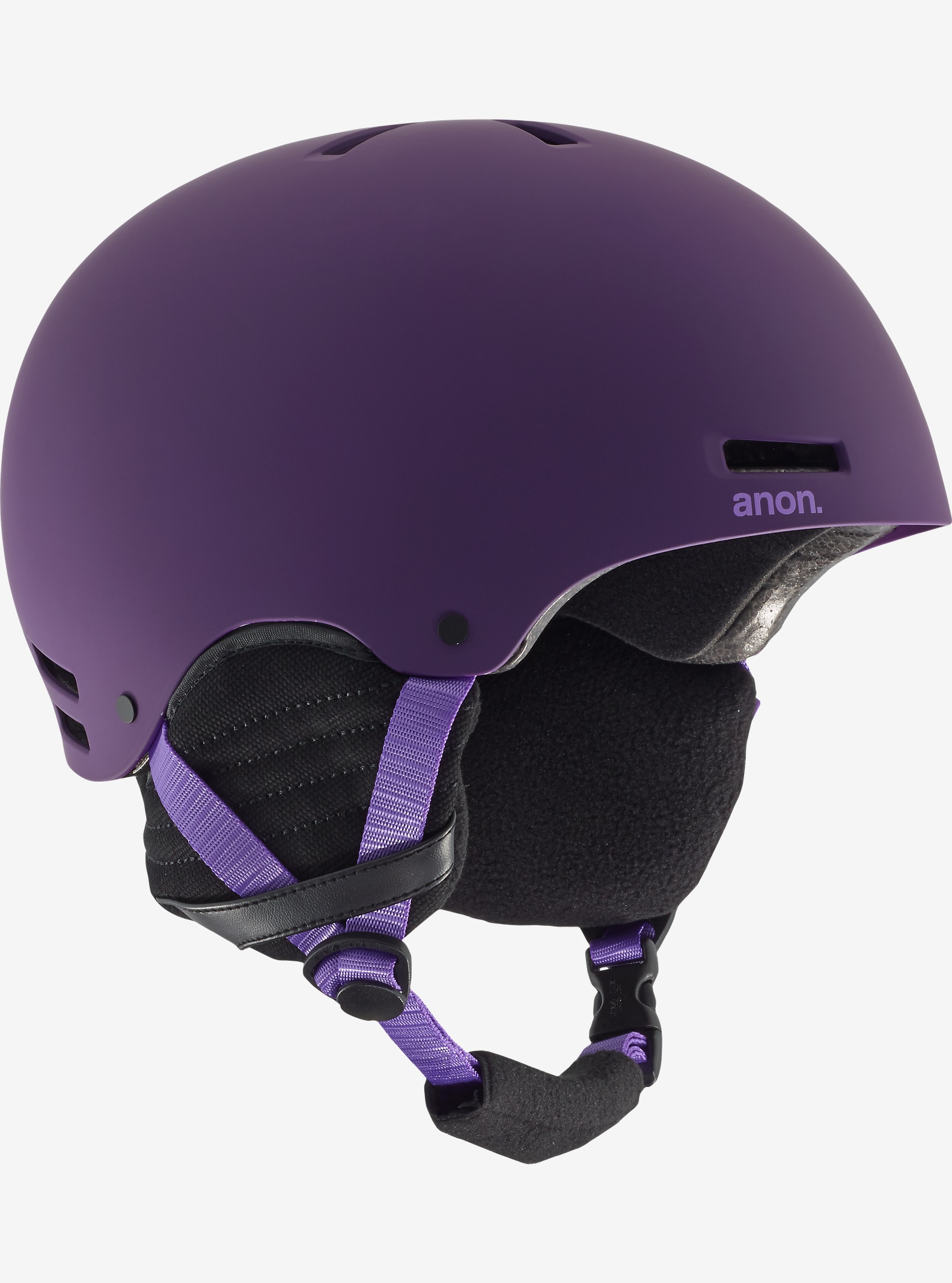 anon. Greta Helmet shown in Imperial Purple