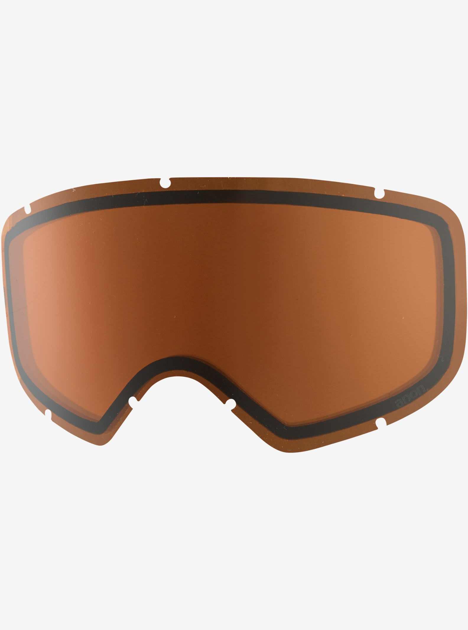 anon. Deringer Goggle Lens shown in Amber (55% VLT)
