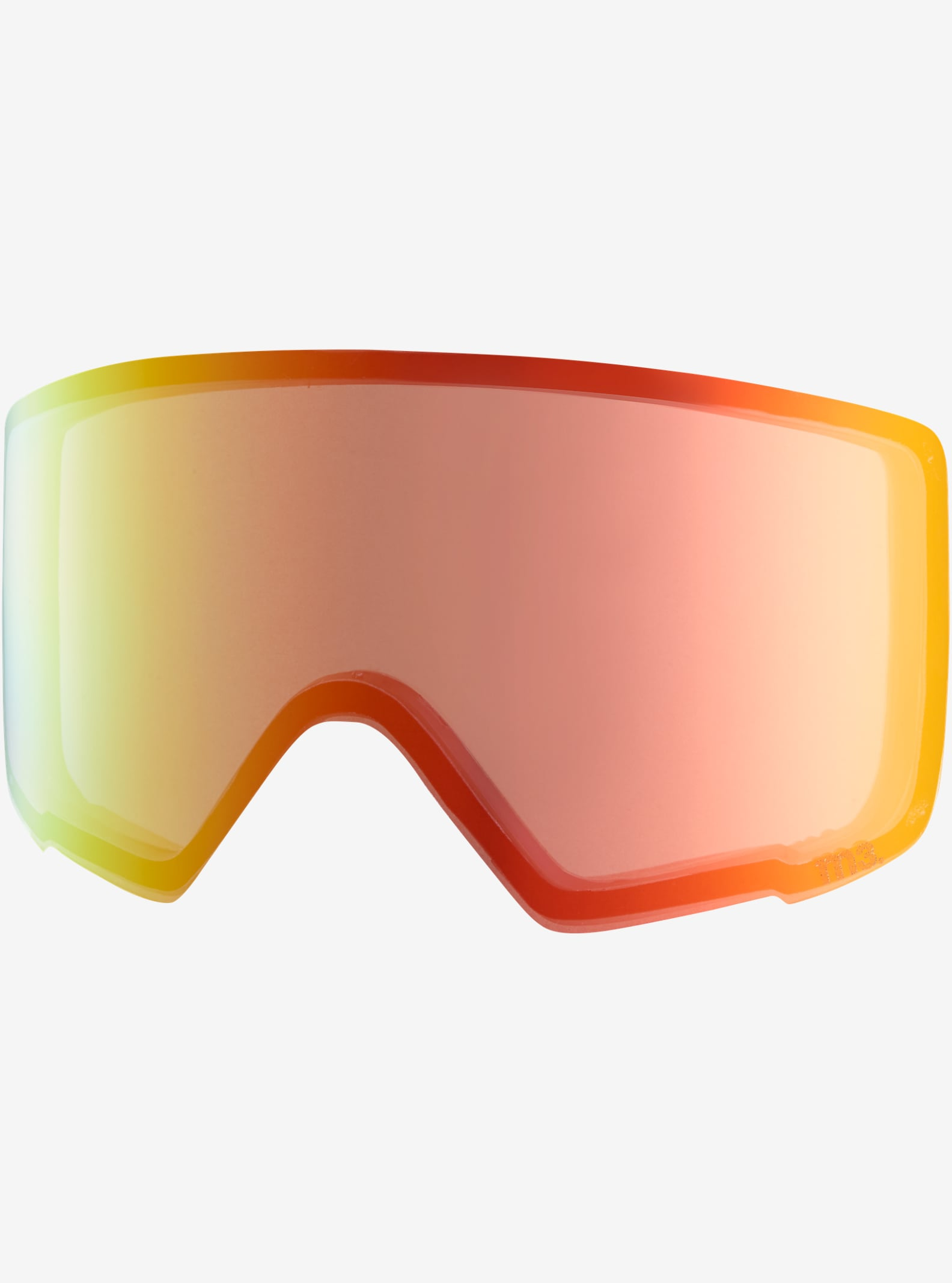 anon. M3 Goggle Lens shown in Red Ice (80% VLT)