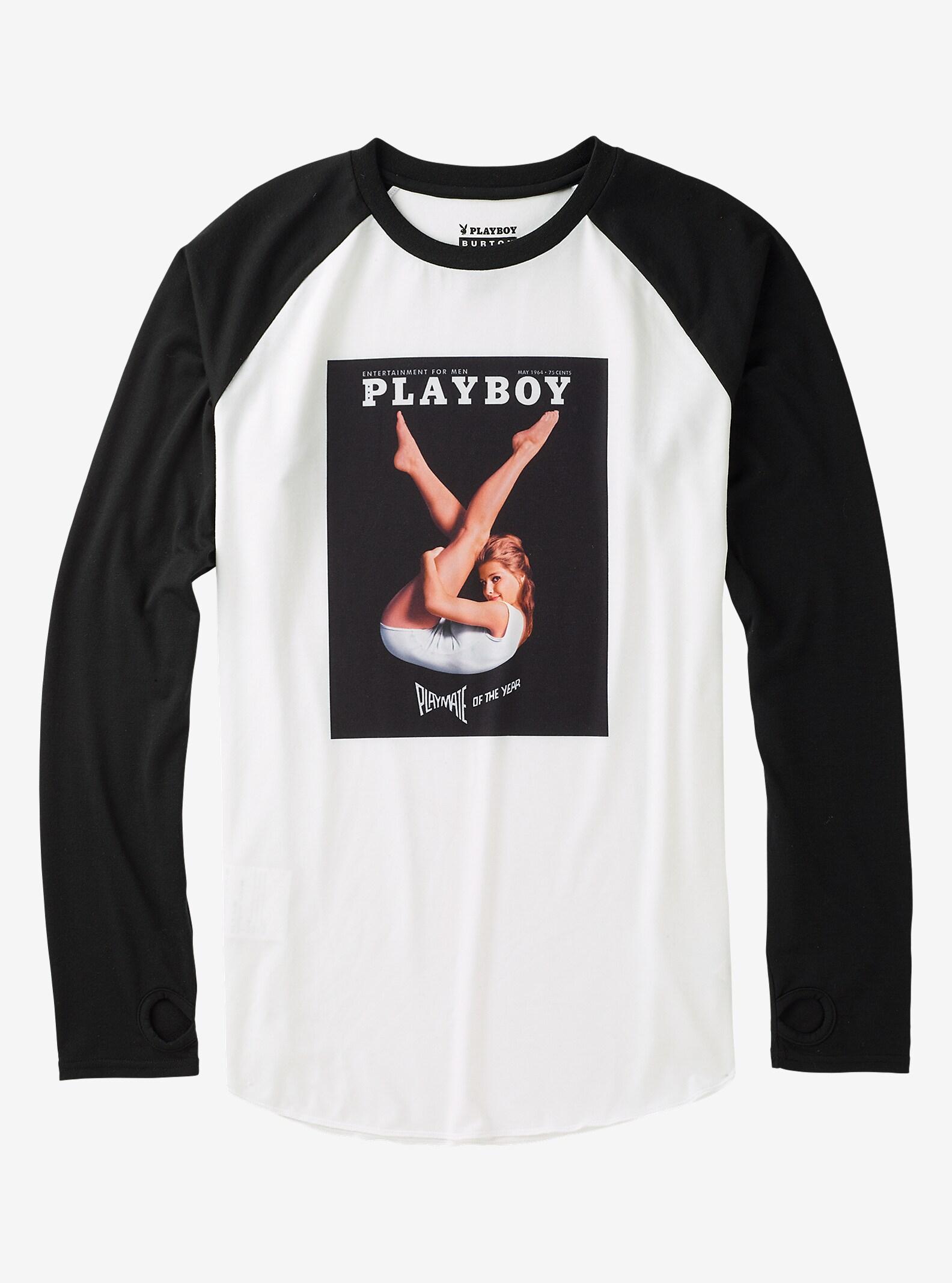 Burton x Playboy Roadie Tech Tee shown in Playboy 1964