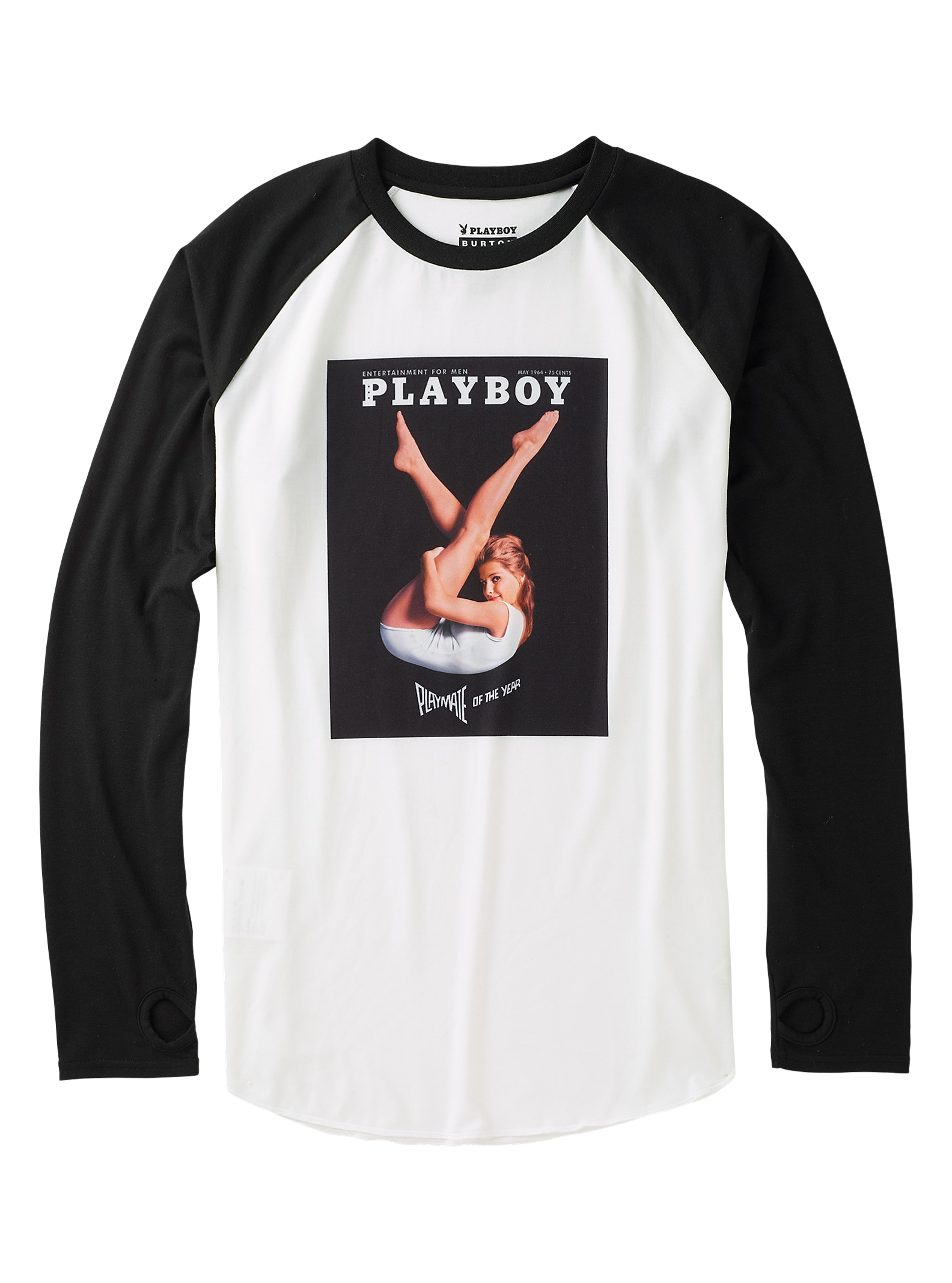 Burton x Playboy - T-shirt tech Roadie affichage en Playboy 1964
